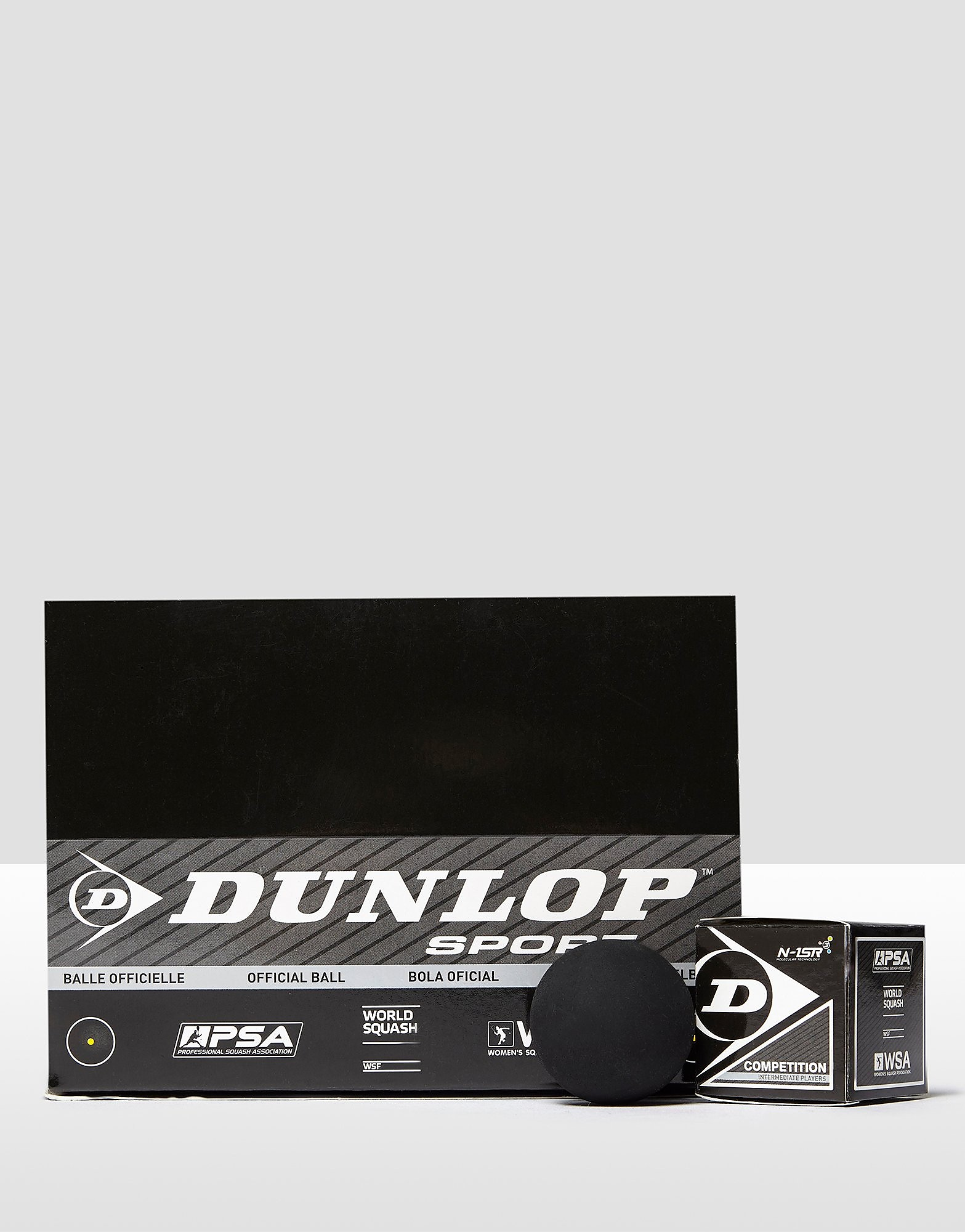 Dunlop Competition Squash Balls (Single Spot) Box of 12