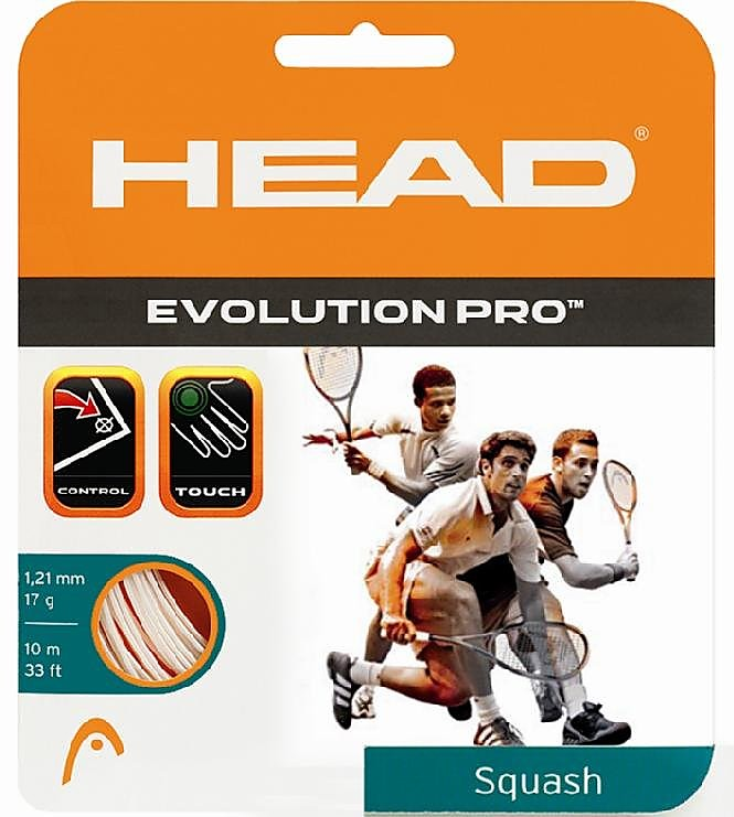 Head Evolution Pro Squash String Set