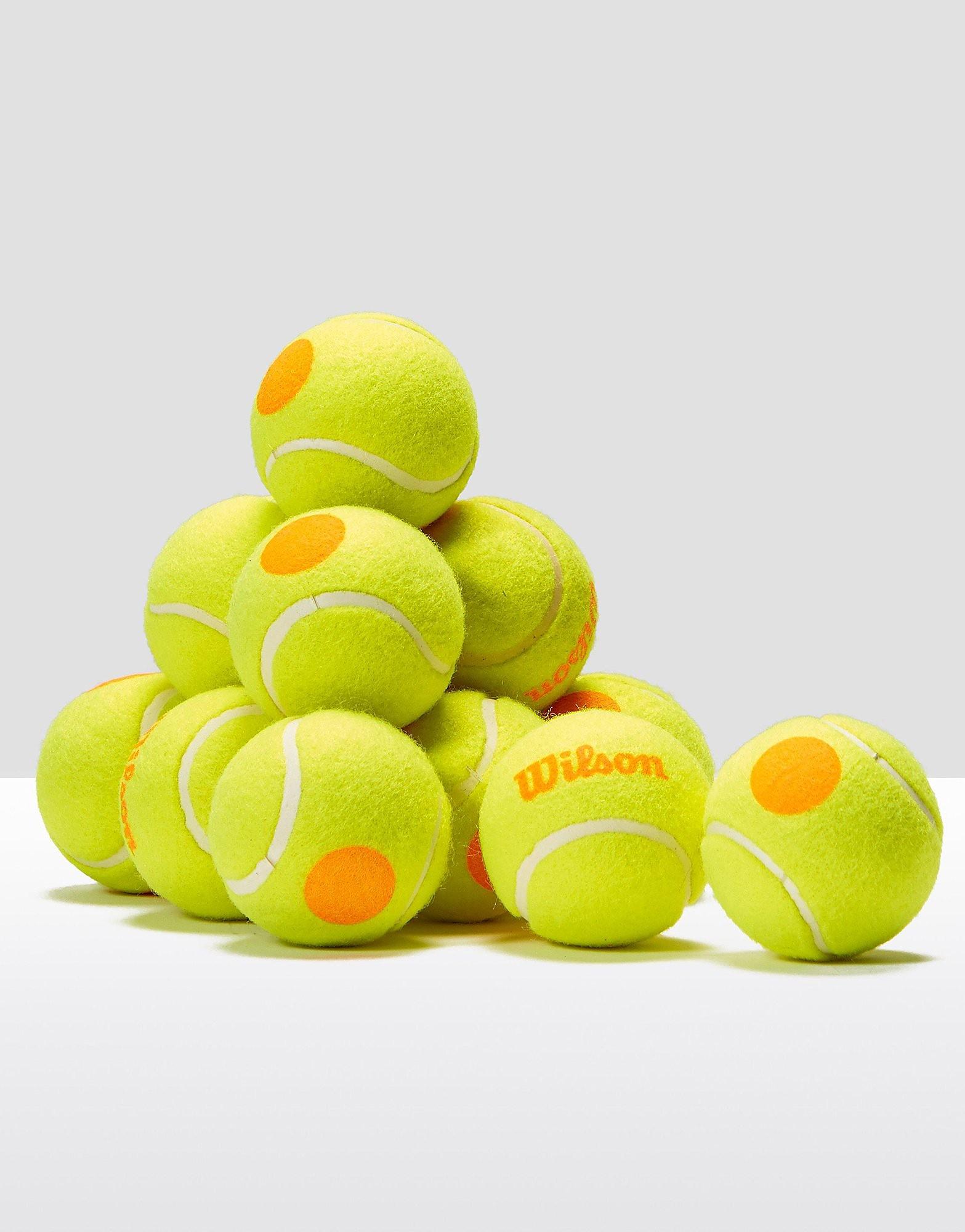 Wilson Starter Game Orange Tennis Balls - 1 Dozen Balls
