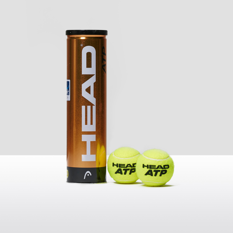 Head ATP Tour Tennis Balls - 4 Ball Can