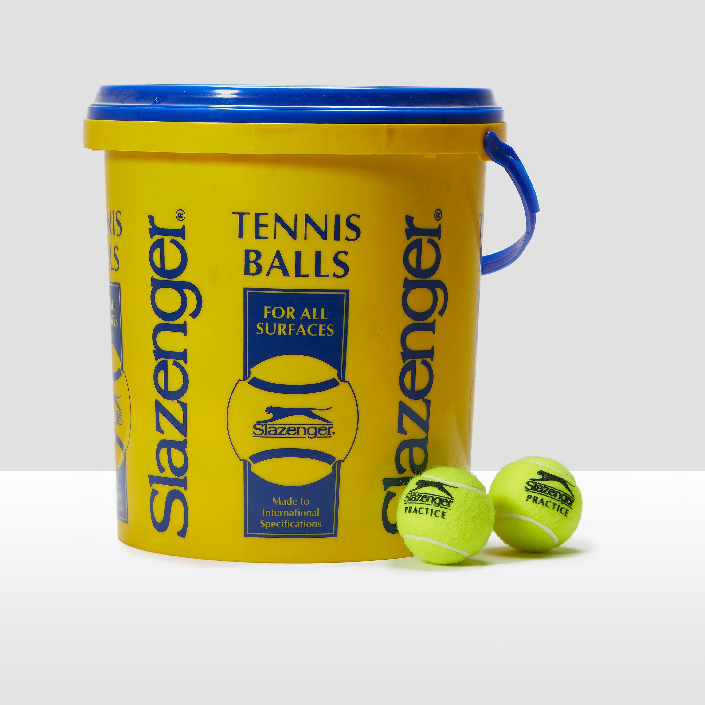 Slazenger Training Tennis Balls Bucket (5 Dozen)