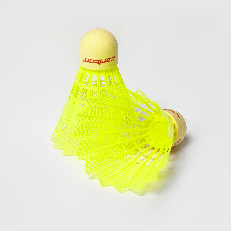 Carlton T800-Yellow Badminton Shuttlecocks -