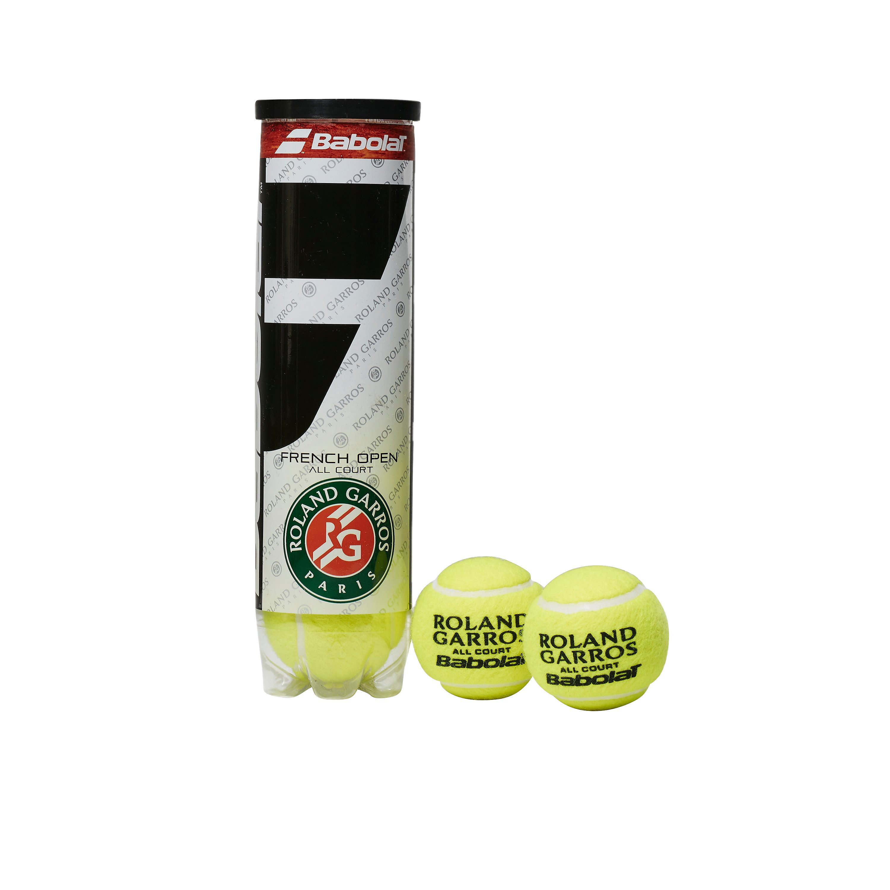 Babolat French Open All Court (4 Pack) Tennis Balls