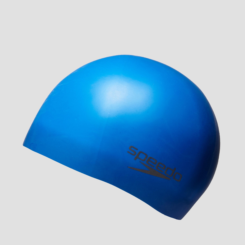 Speedo Plain Moulded Silicone Adult Cap