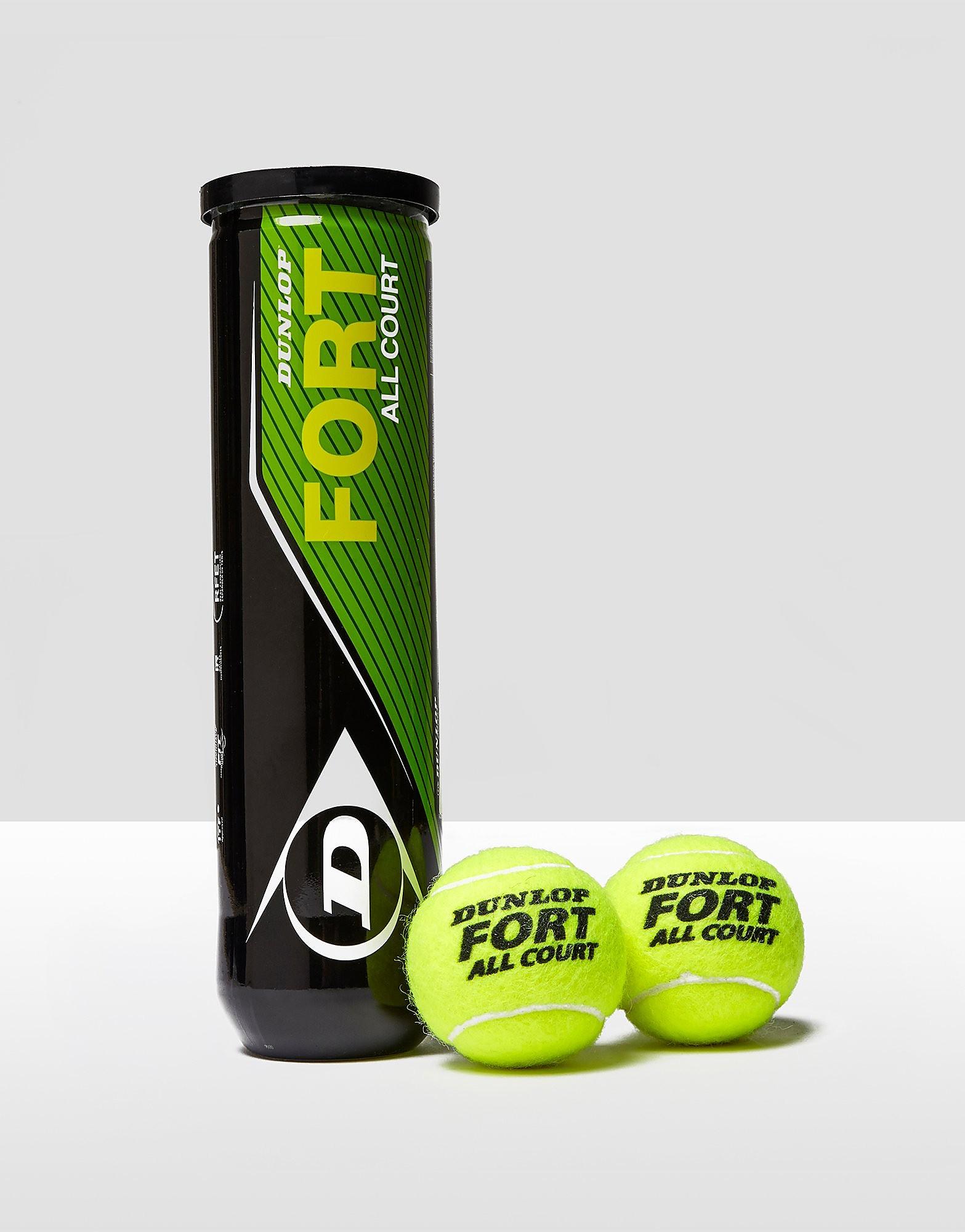 Dunlop Fort All Court Tennis Balls - 4 Ball Can