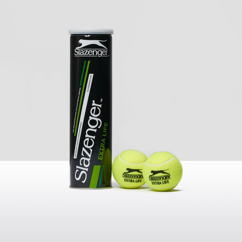 Slazenger Extra Life 4 Tennis Ball Can