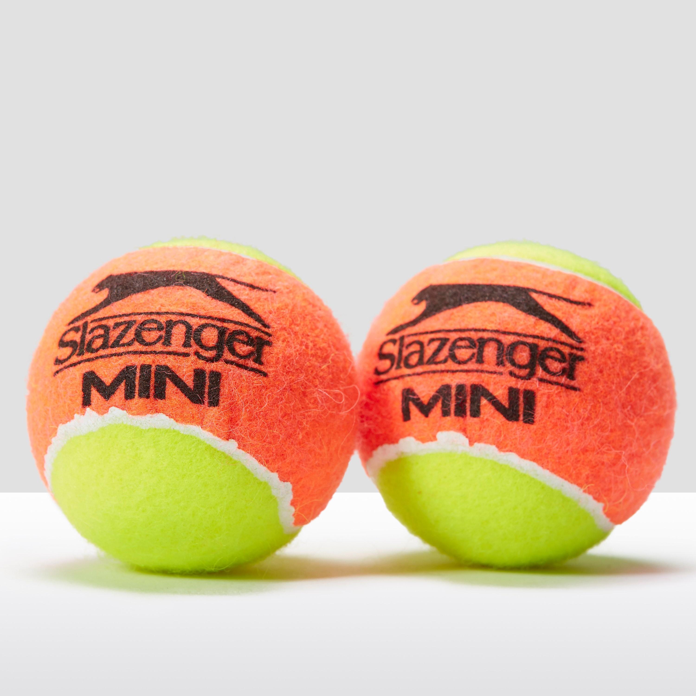 Slazenger Mini Tennis Balls Bucket (Stage 2 Orange)