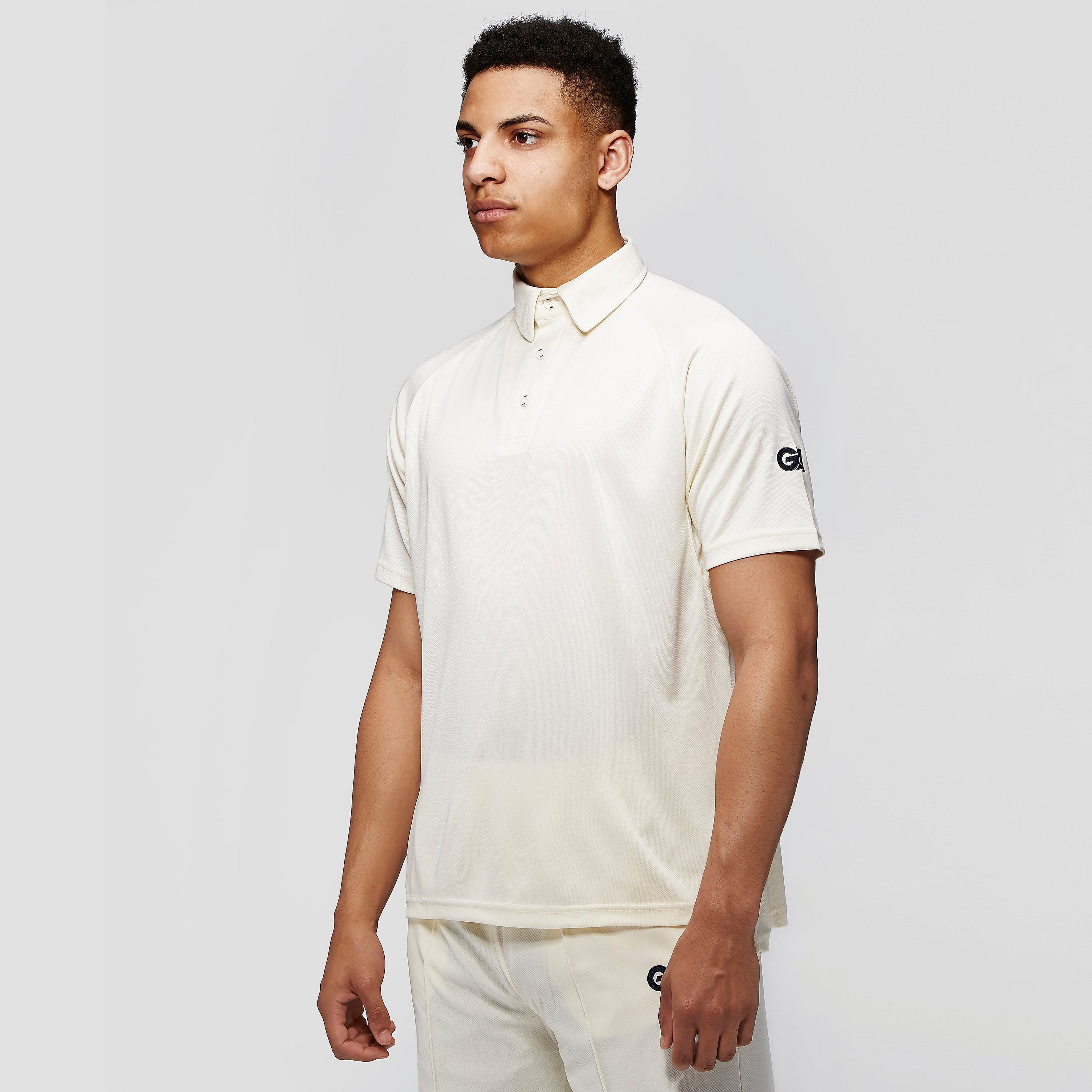 Gunn & Moore Premier Club Men's 3/4 Sleeve Cricket Shirt
