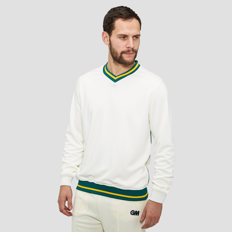 Gunn & Moore Trimmed Men's Long Sleeve Teknik Sweater