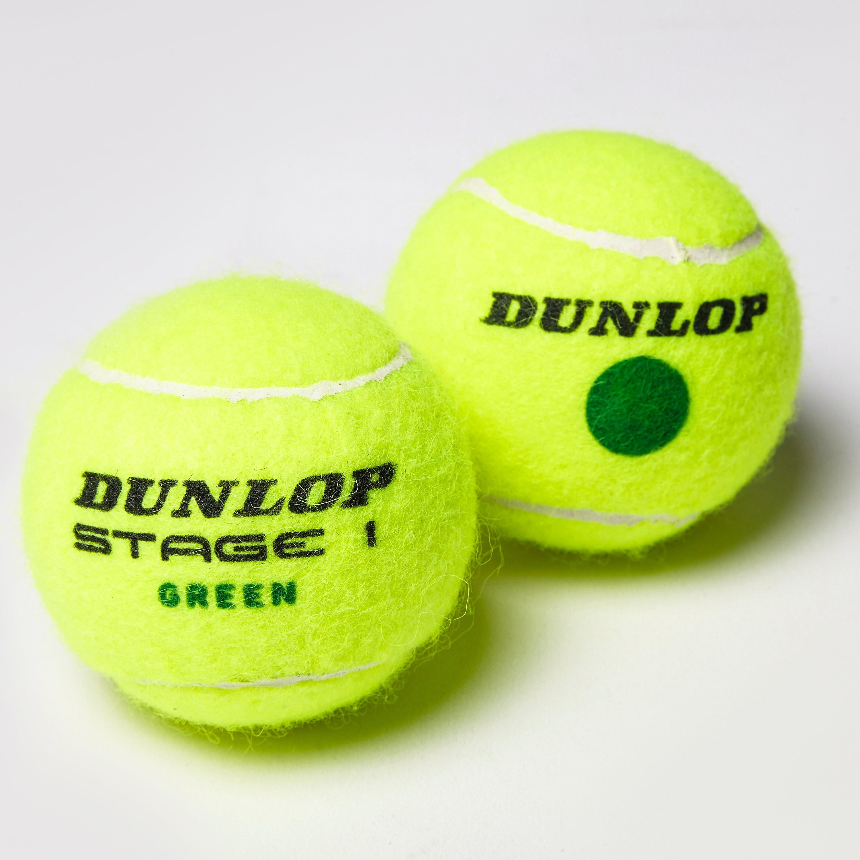 Dunlop Stage 2 Orange Mini Tennis Balls (60 Ball Bucket)