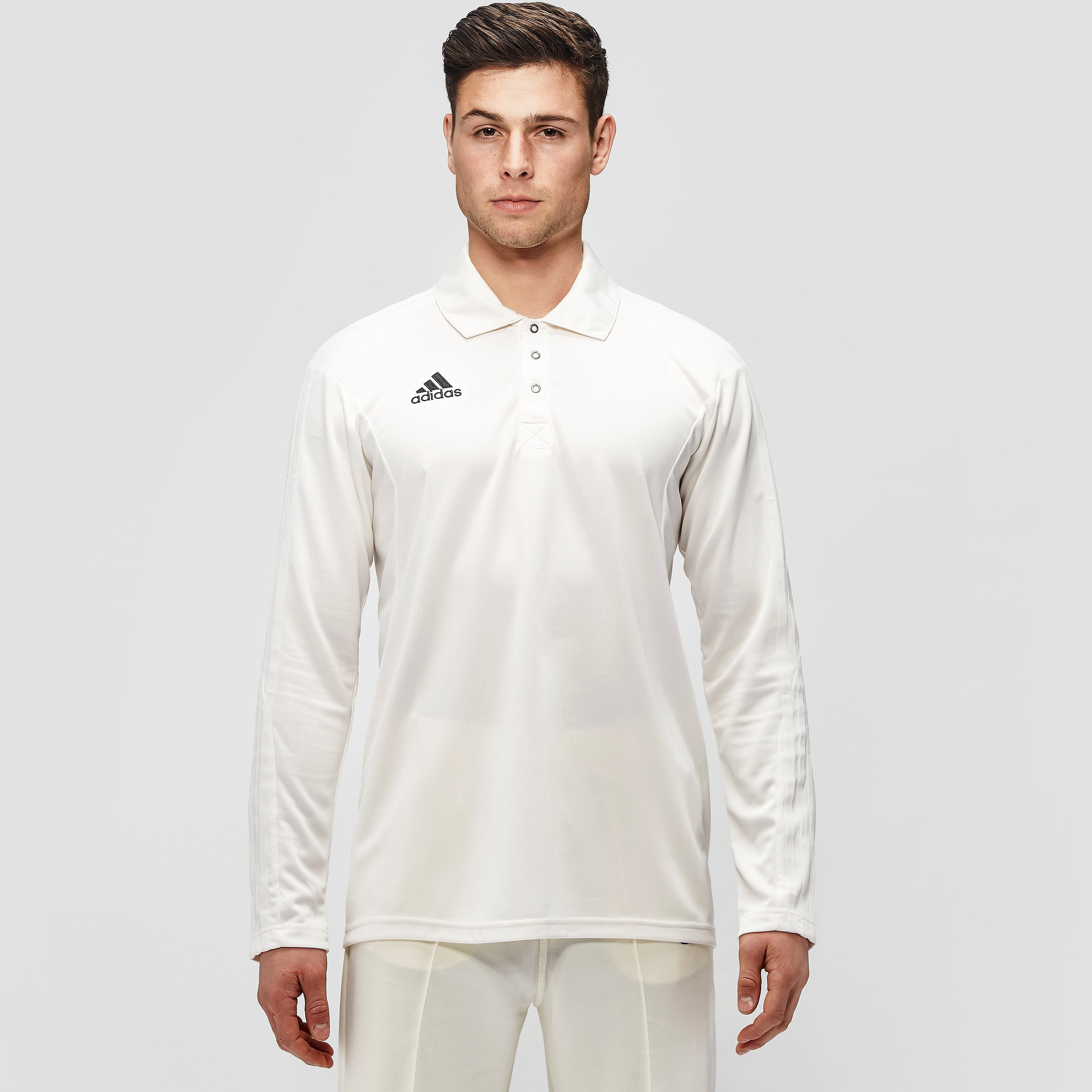 adidas Long Sleeve Adult Cricket Shirt