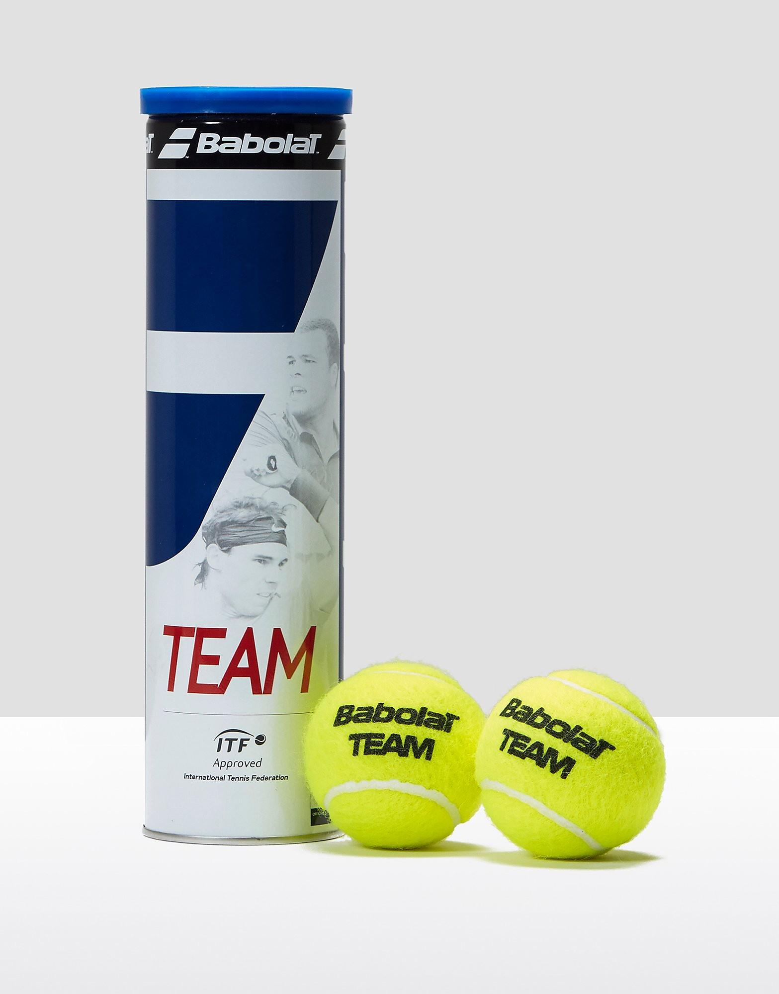 Babolat Team Tennis Balls - 4 Ball Can