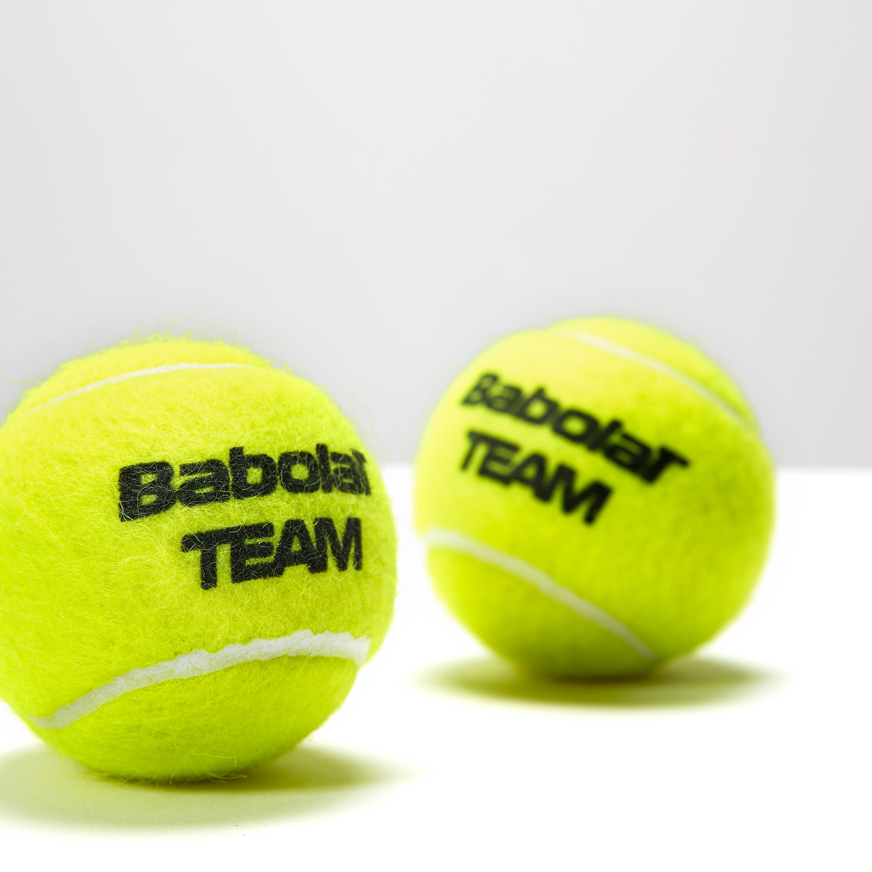 Babolat Team Tennis Balls - 4 Ball Can