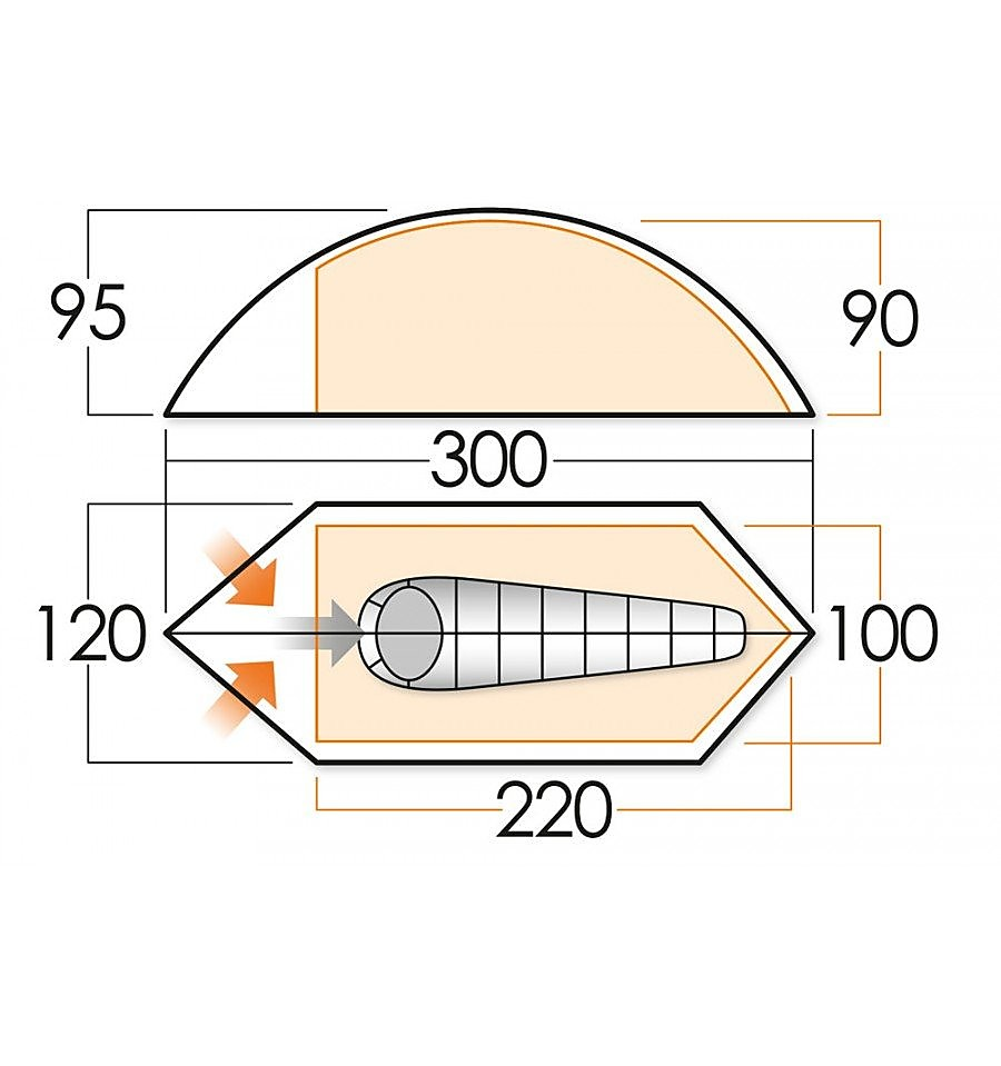 Vango Blade 100 Tent