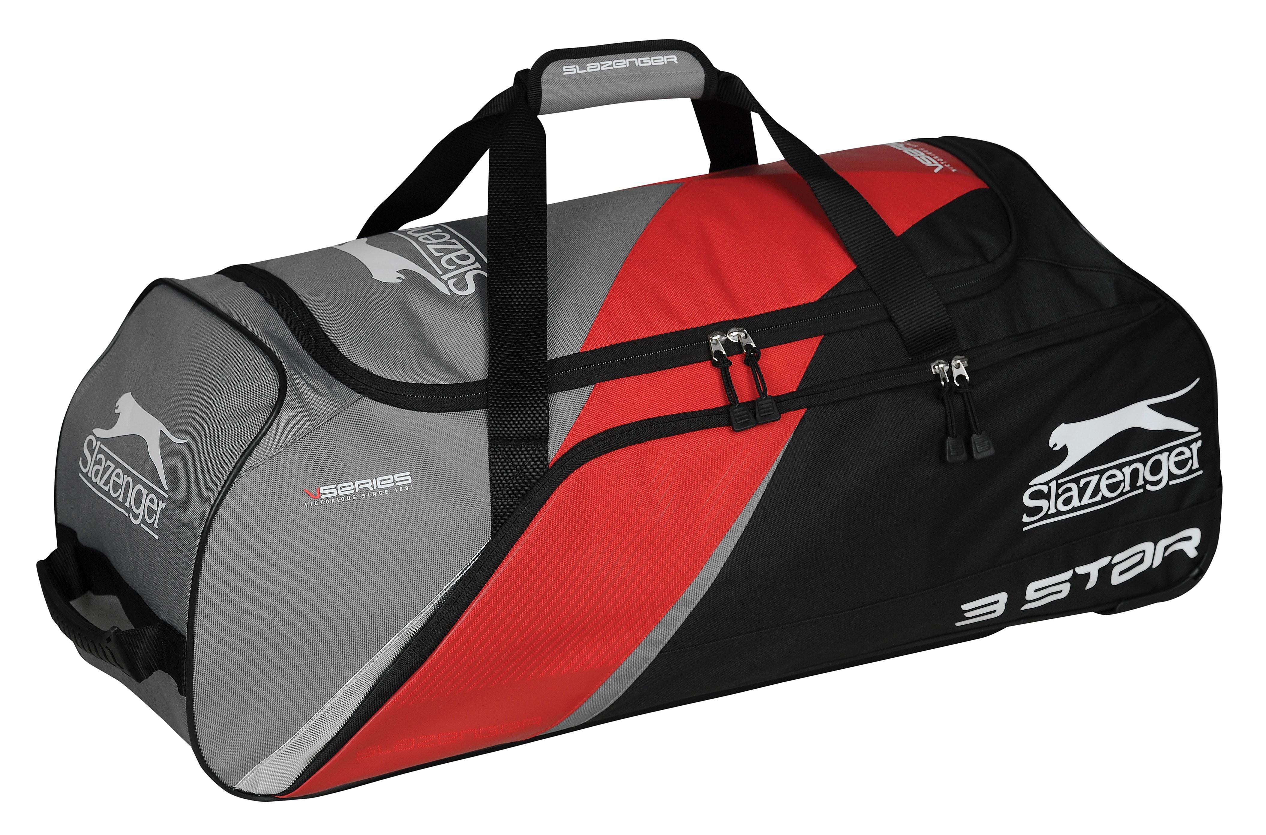Slazenger 3 STAR WHEELIE BAG