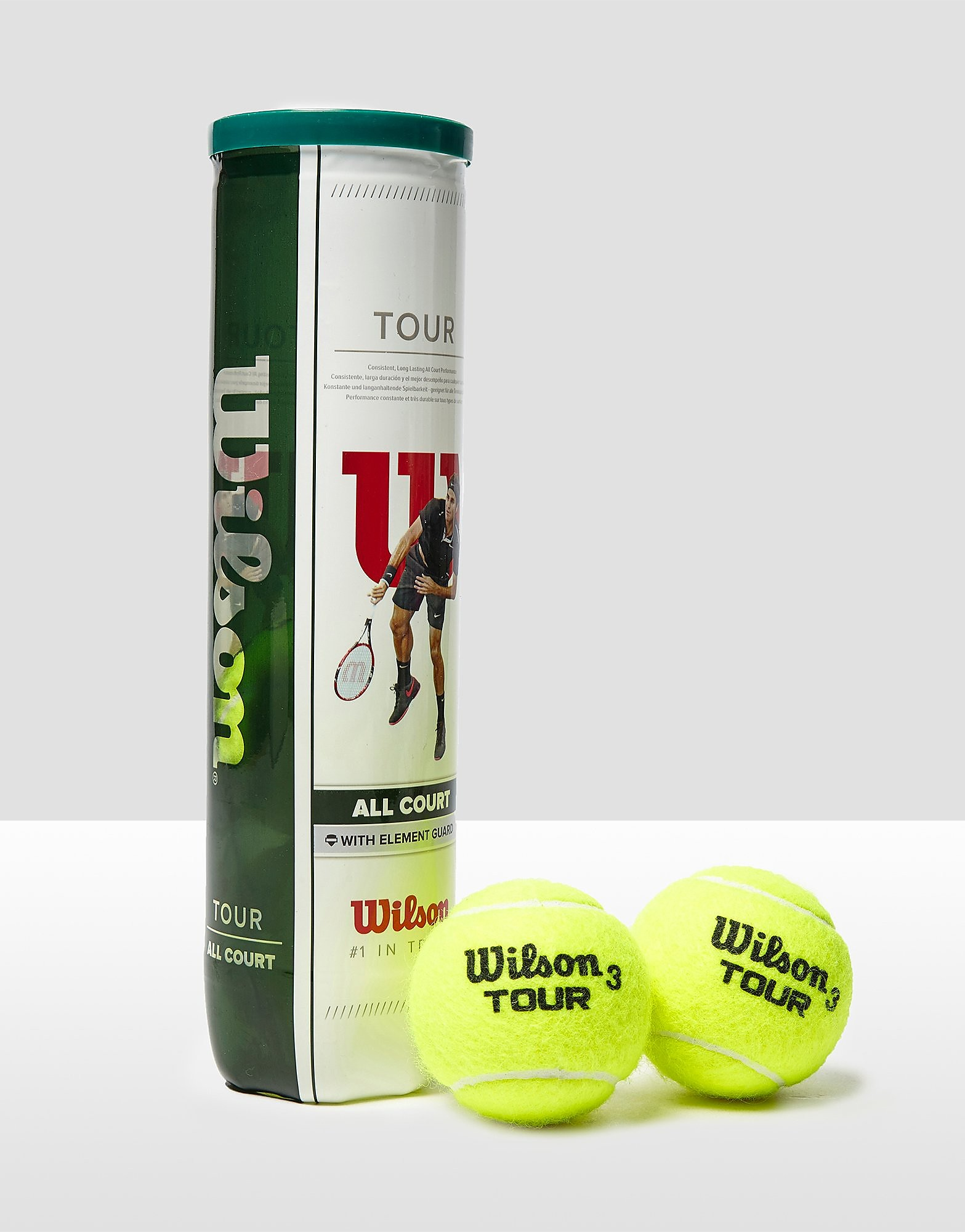 Wilson Tour Tennis Balls (4 Ball Can)