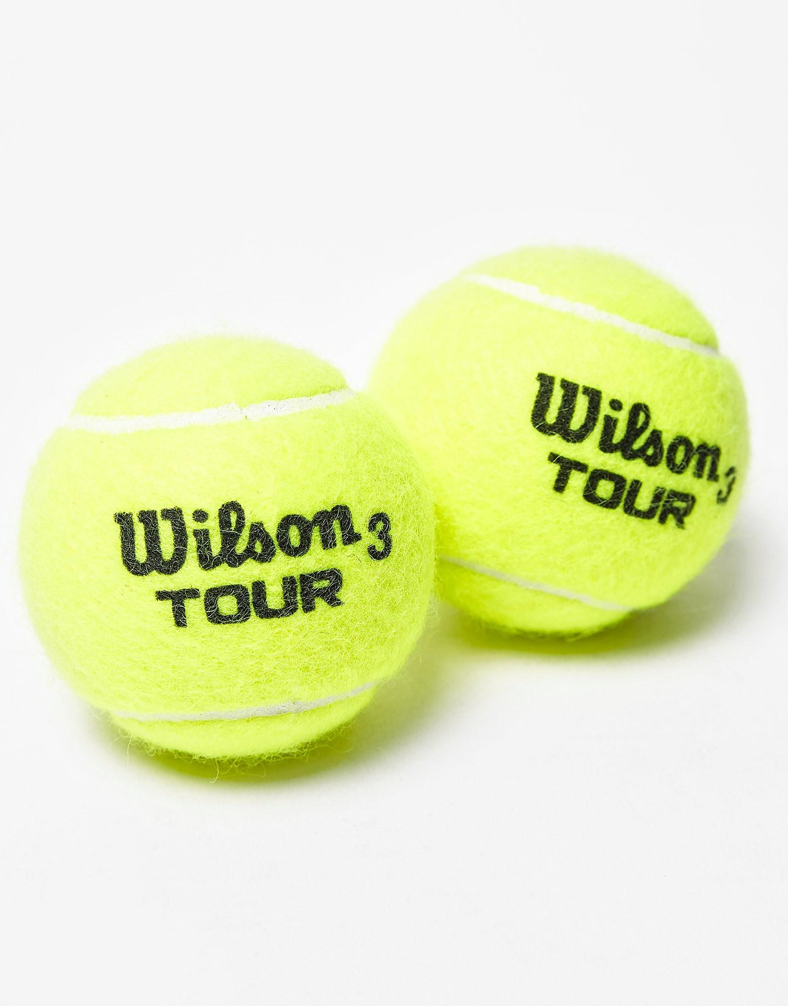 Wilson Tour Tennis Balls (4 Ball Can)