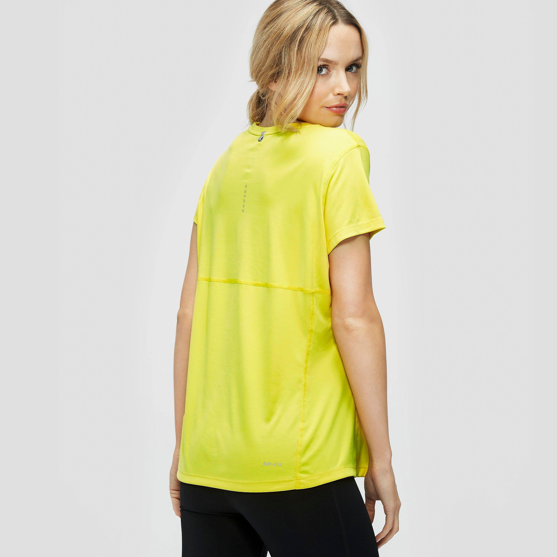 Nike Miler Ladies Running Short Sleeve Shirt