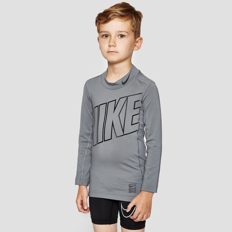 Nike Hyperwarm HBR Compression Mock Junior Training Shirt