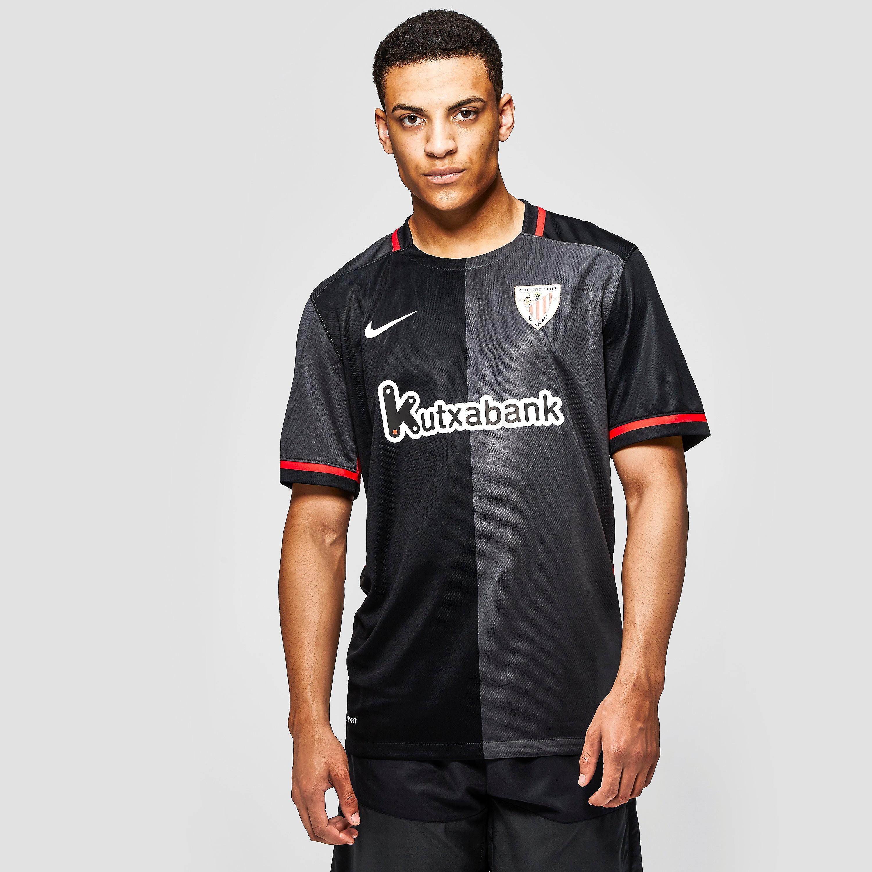 Nike Athletic Club Bilbao 2015/16 Away Stadium Football Short-Sleeve Jersey