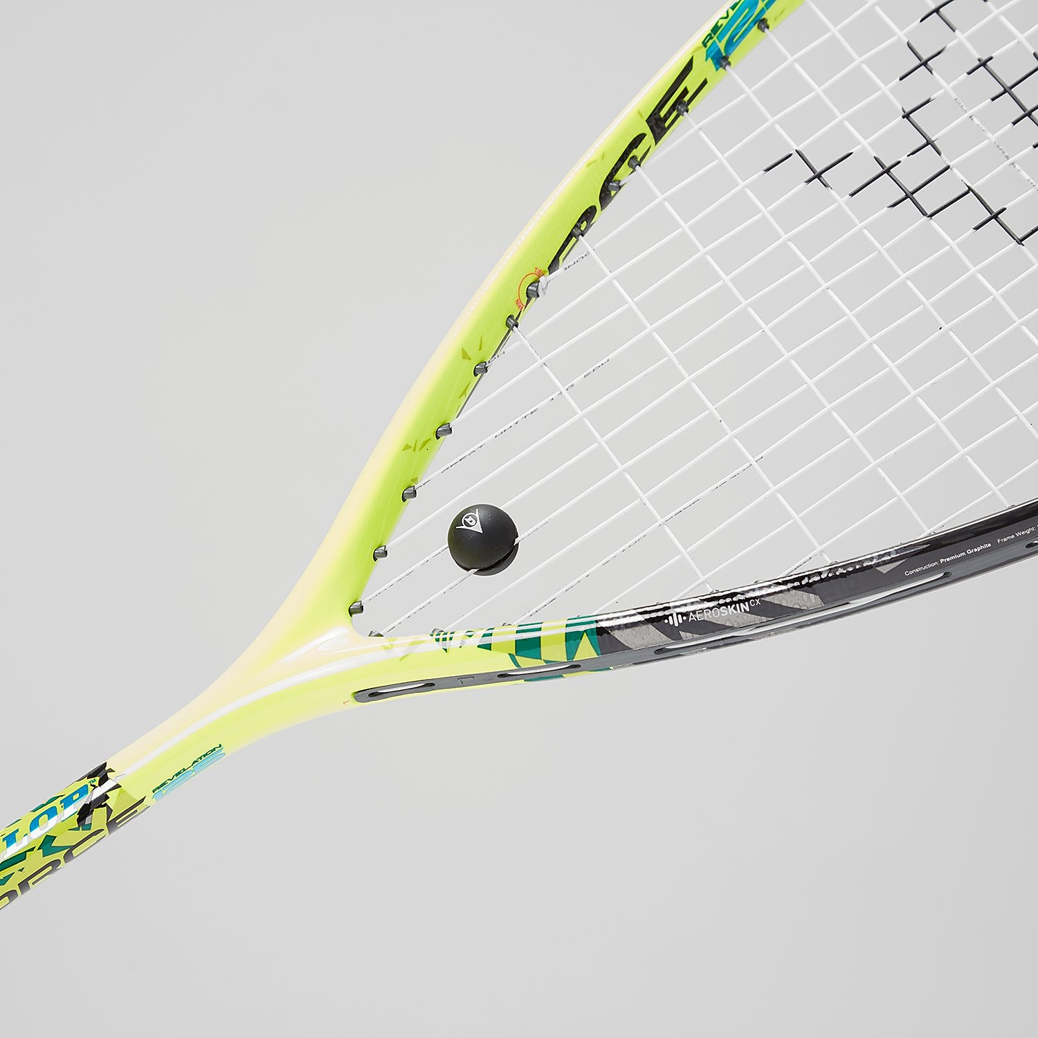 Dunlop Force Revelation 125 Squash Racket