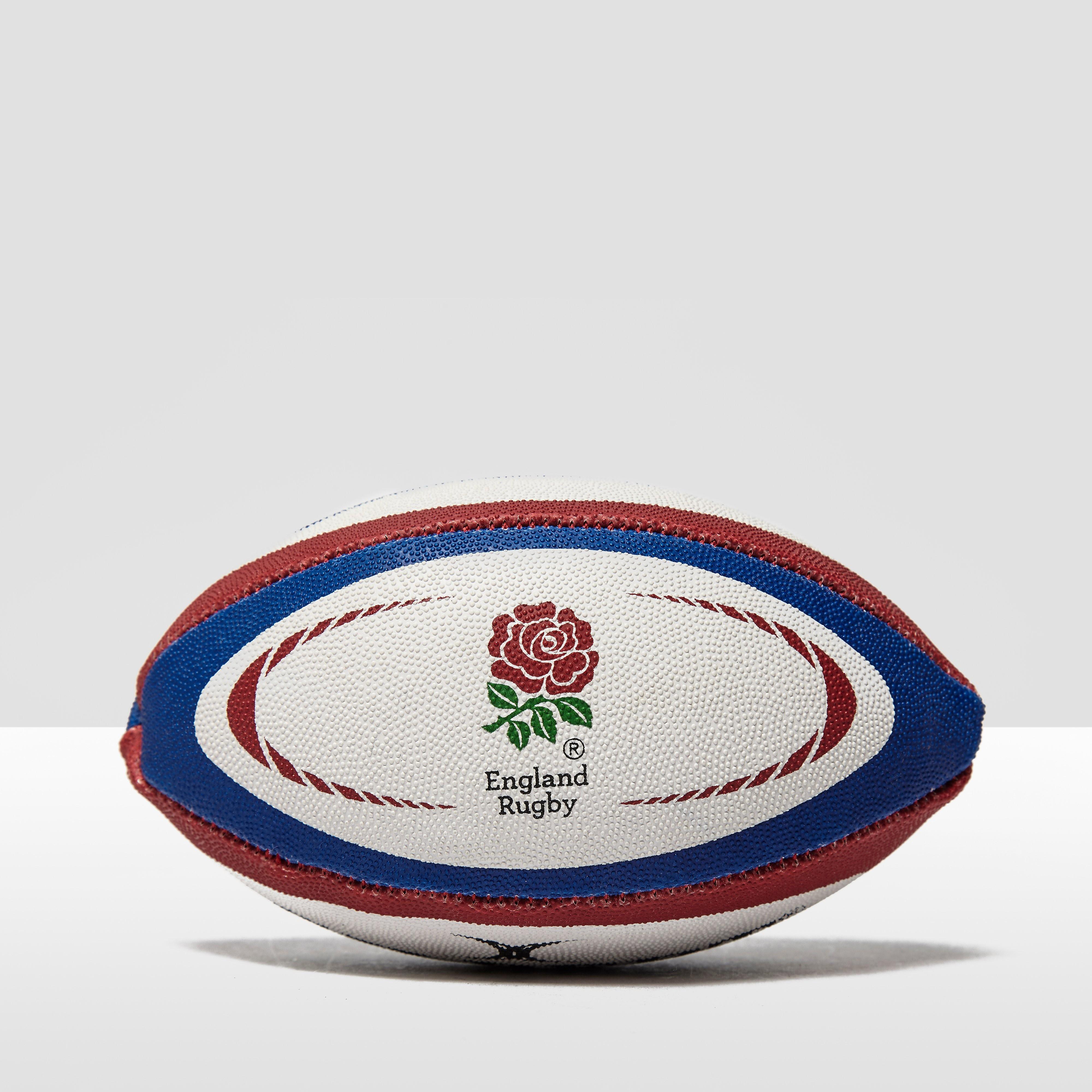 Gilbert England International Replica Mini Rugby Ball