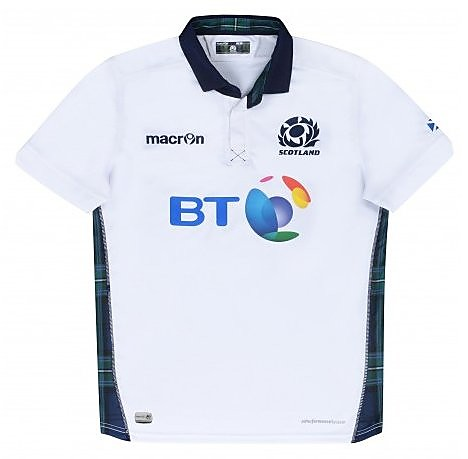 Macron Scotland 2015/2016 Men's Away Rugby Shirt