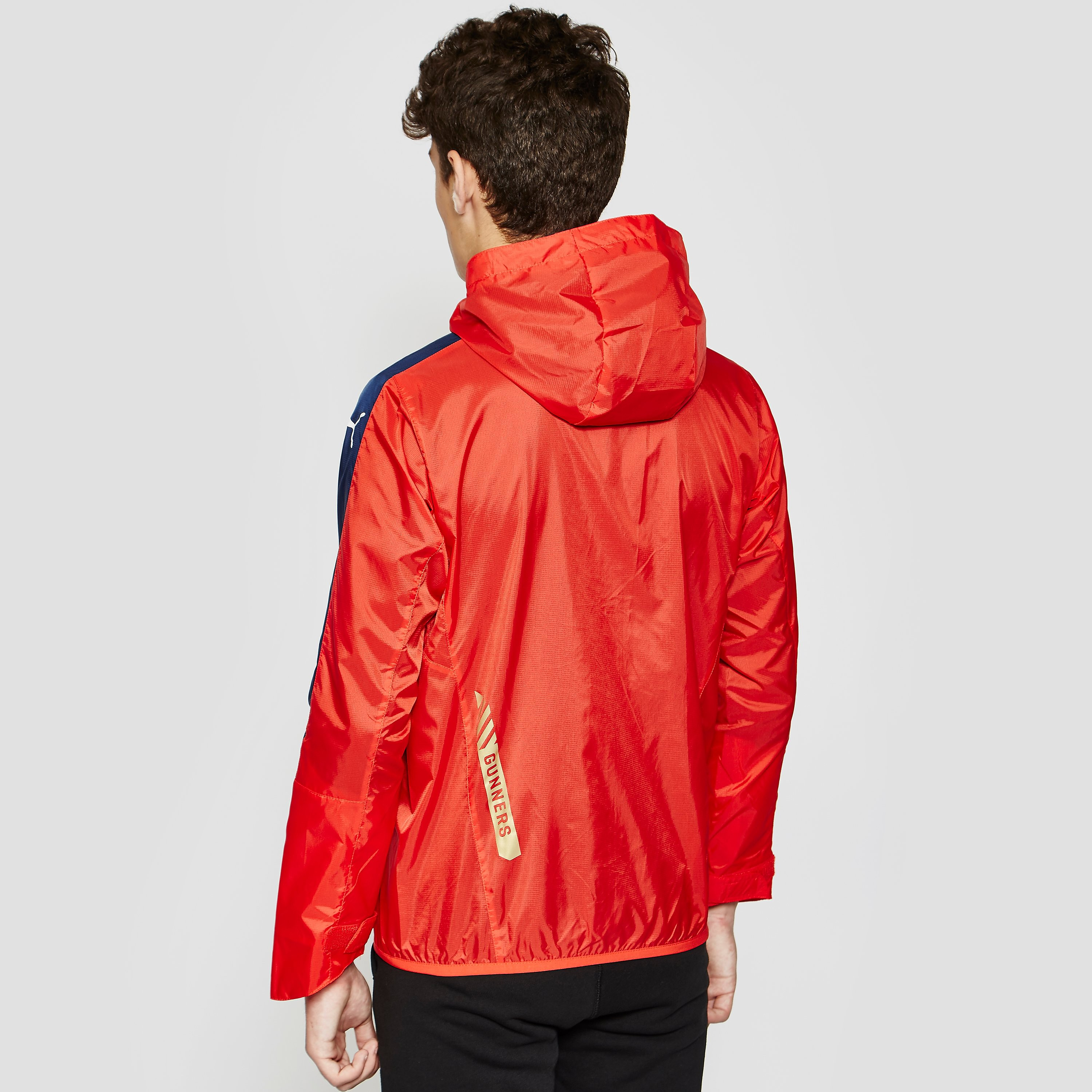 Puma ARSENAL 2015/16 Performance Rain Boy's Jacket