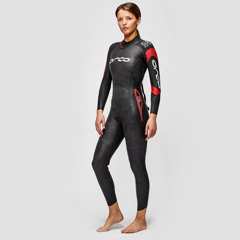 Womens Black Orca Predator Wetsuit