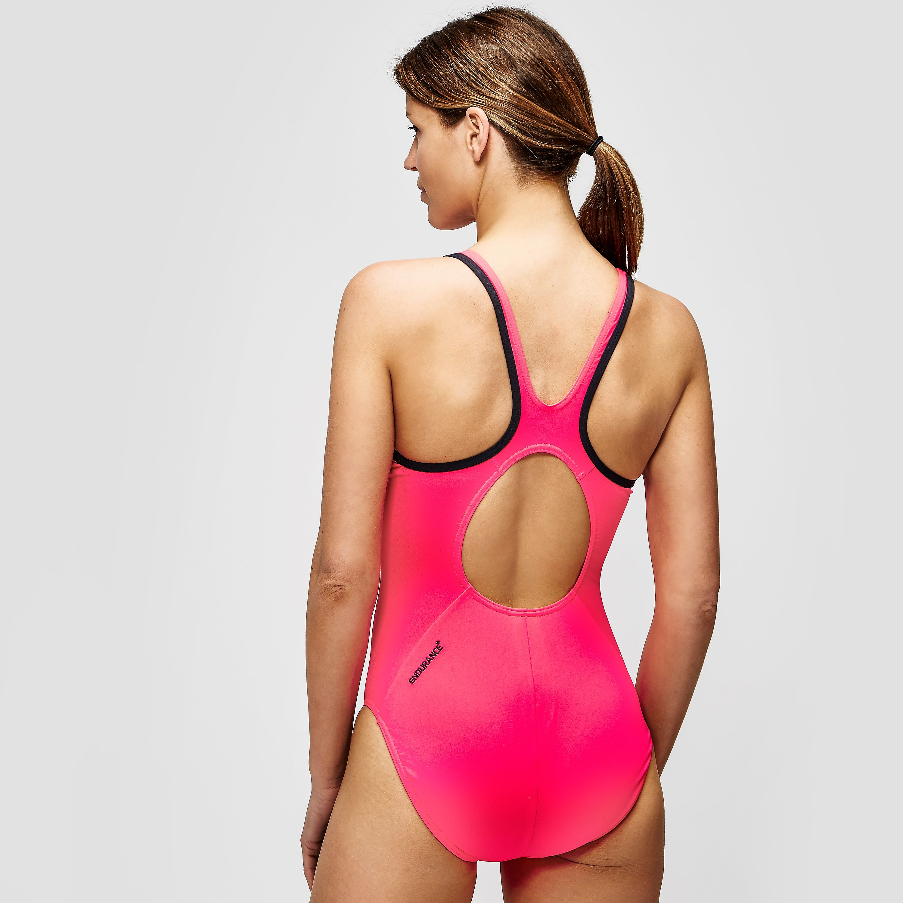 Speedo Ladies Monogram Muscleback Swimsuit