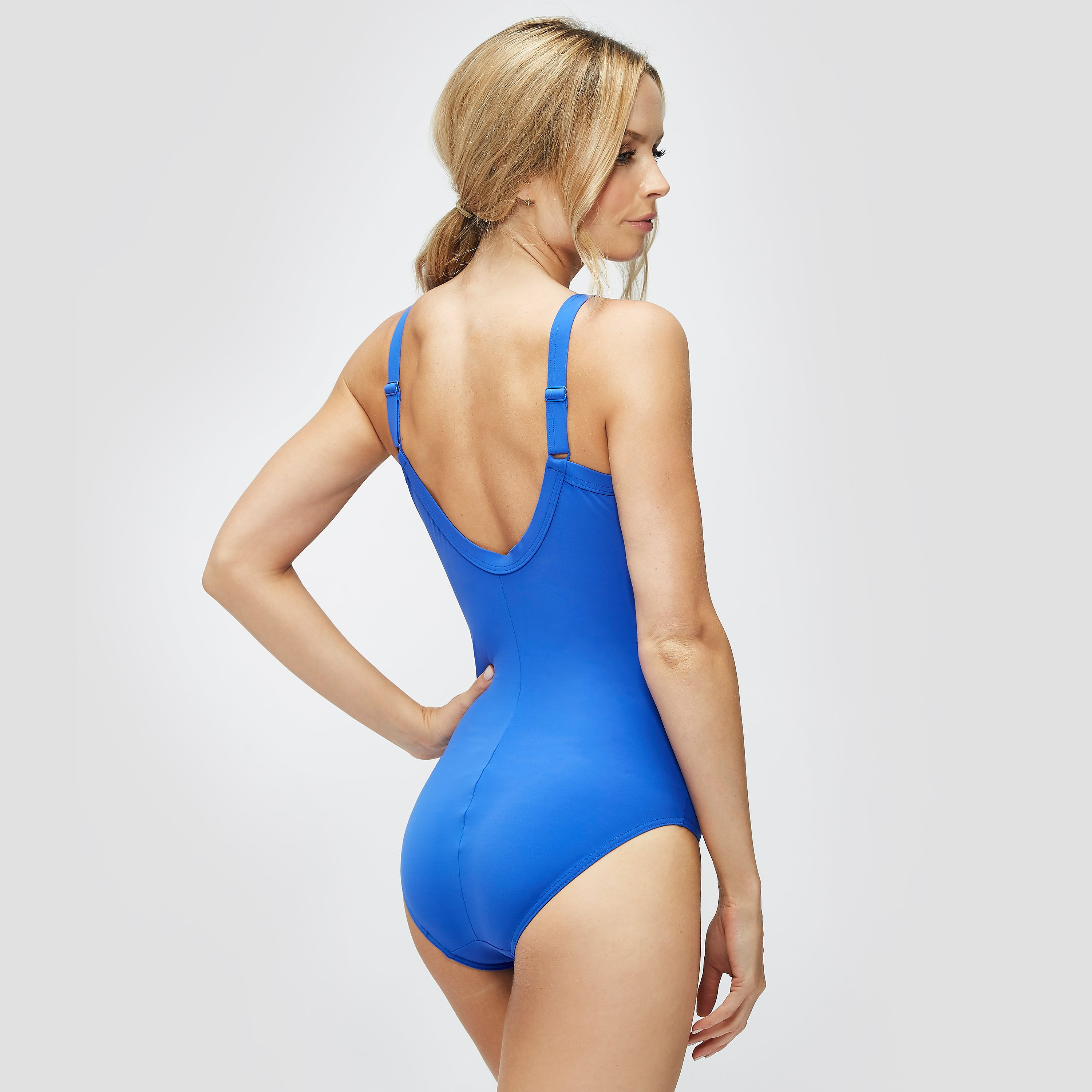 Speedo Sculpture Watergem Adjustable One Piece Swimsuit
