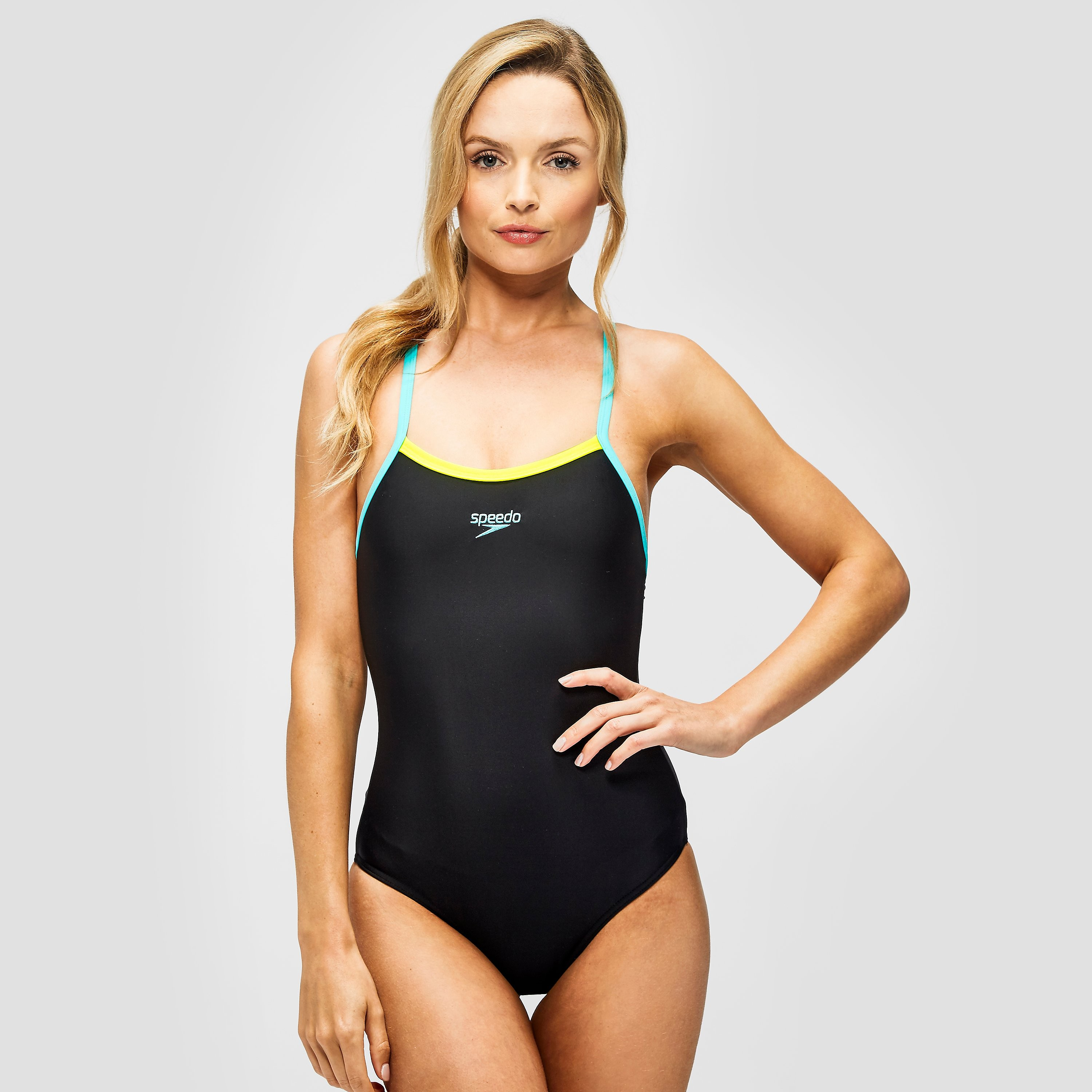 Speedo Thinstrap Muscleback Ladies Swimsuit