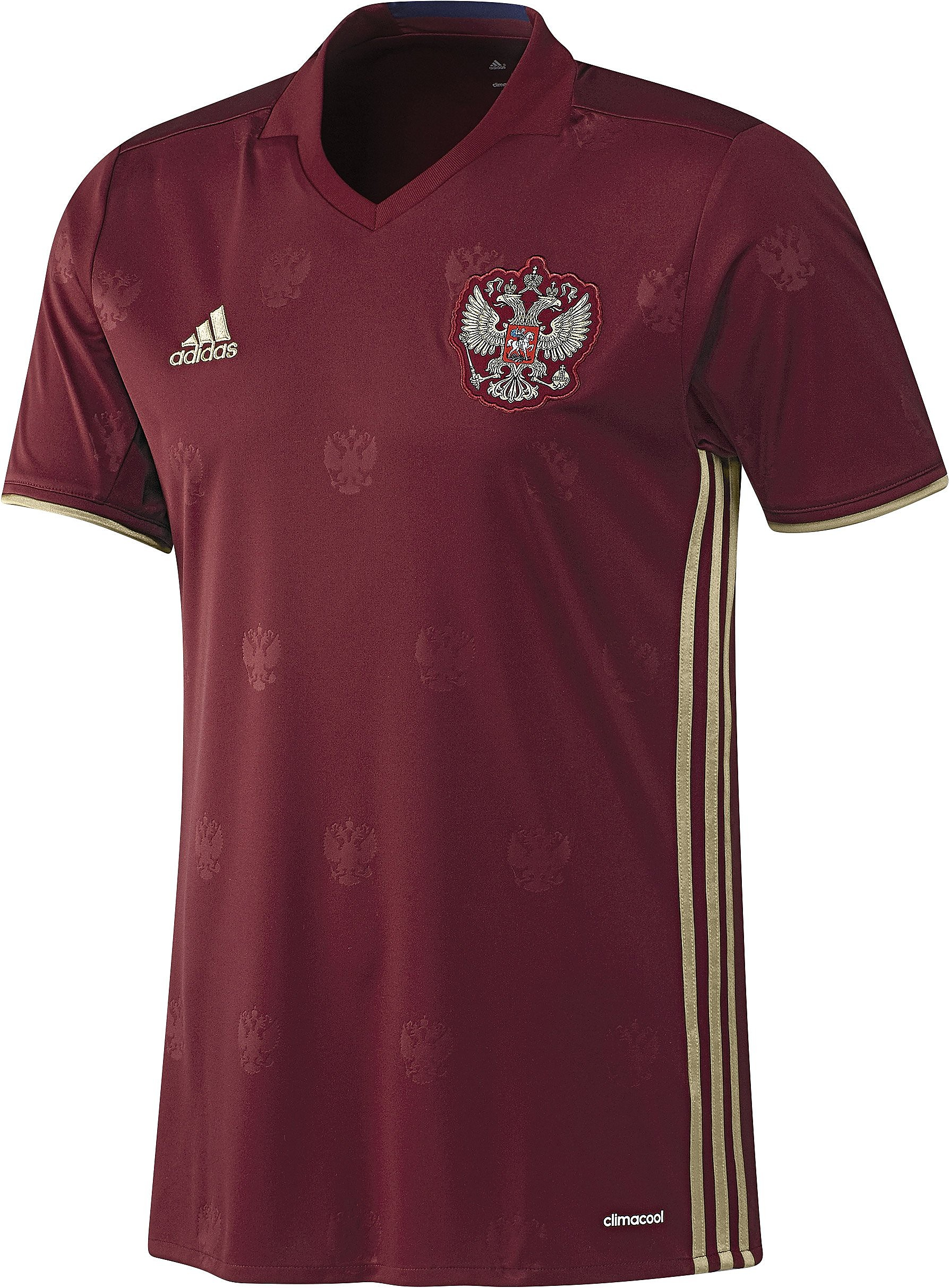 adidas Russia 2015-16 Home Junior Football Short-Sleeve Jersey