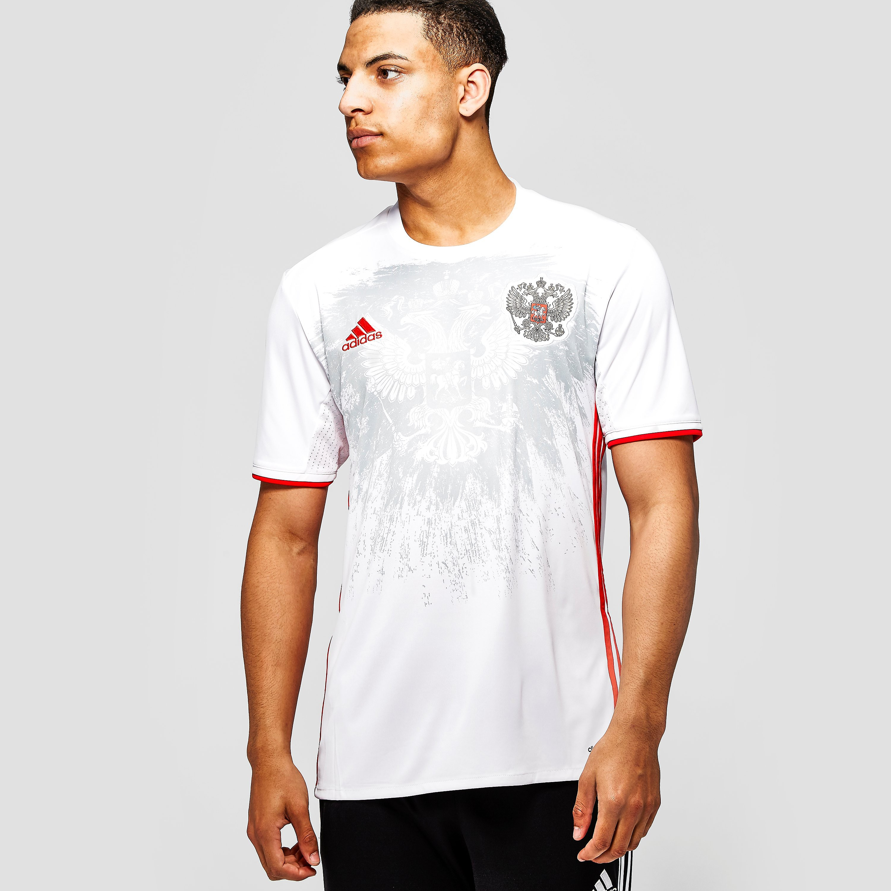 adidas Russia 2015-16 Away Football Short-Sleeve Jersey