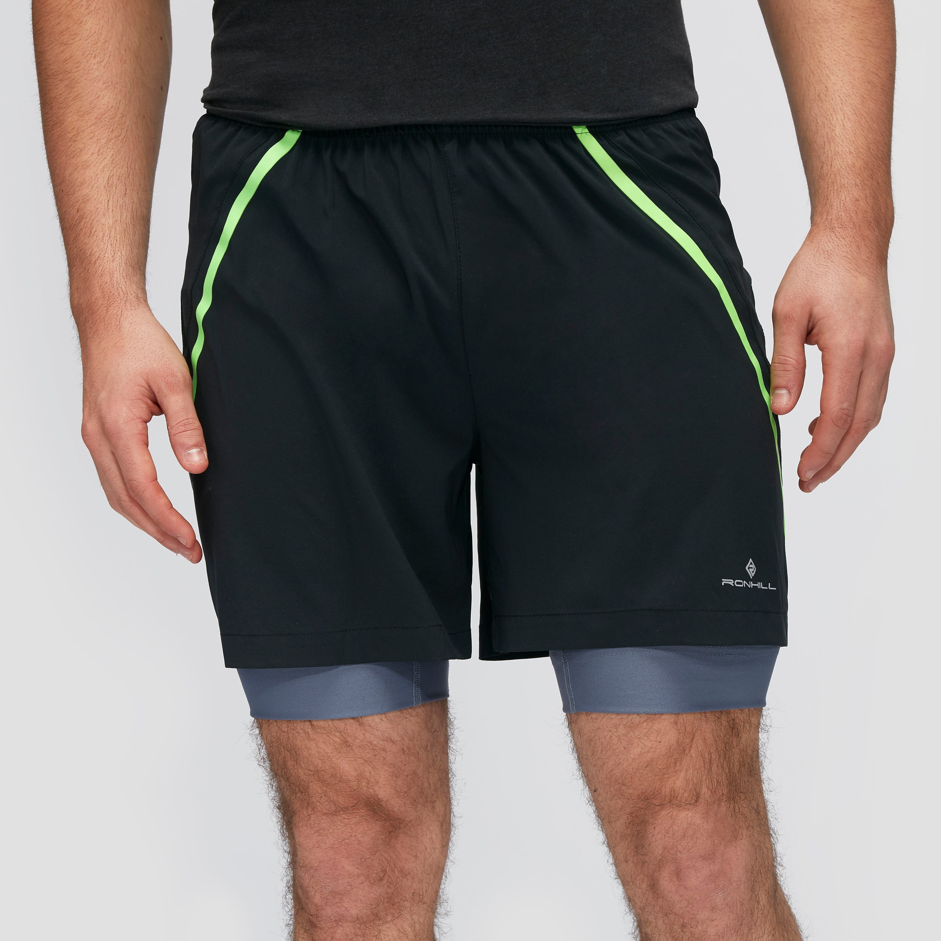 Ronhill Advance Twin 5 Inch Men's Short