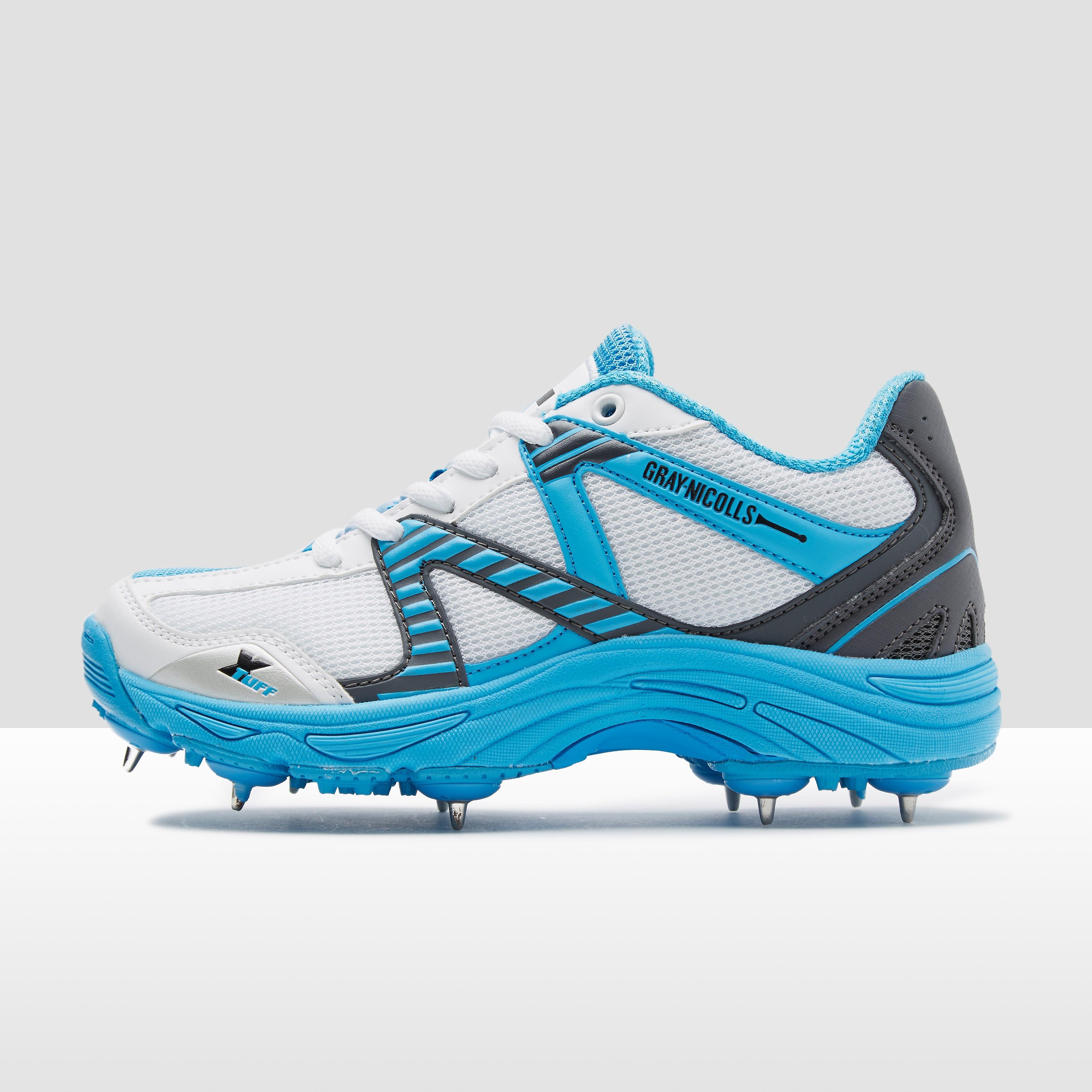 Gray Nicolls Velocity Blue Spike Junior Cricket Shoe