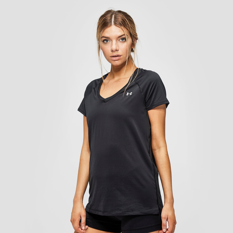 Under Armour UA HeatGear Armour Ladies Short Sleeve T-Shirt