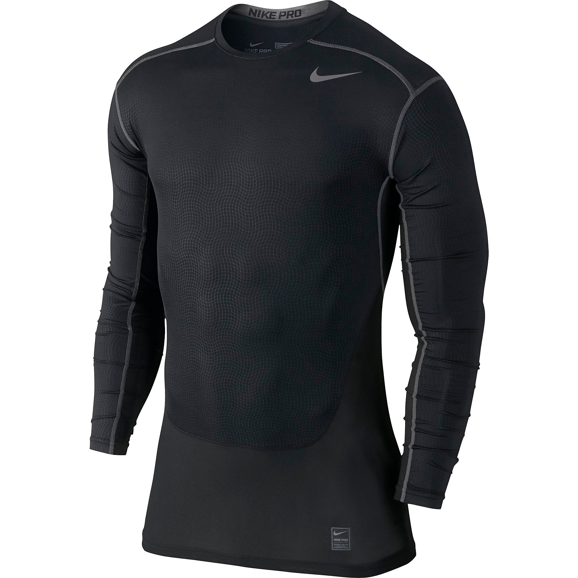 Nike Men's Pro Hypercool Compression Crew Top