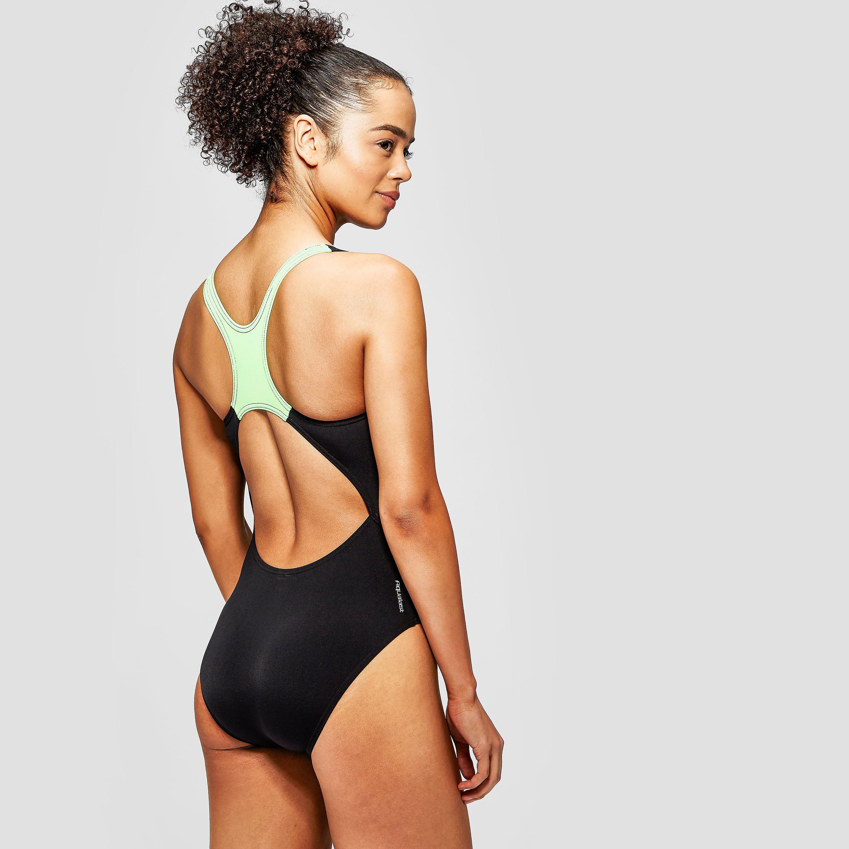 Zoggs Signature Plaid Actionback Swimsuit