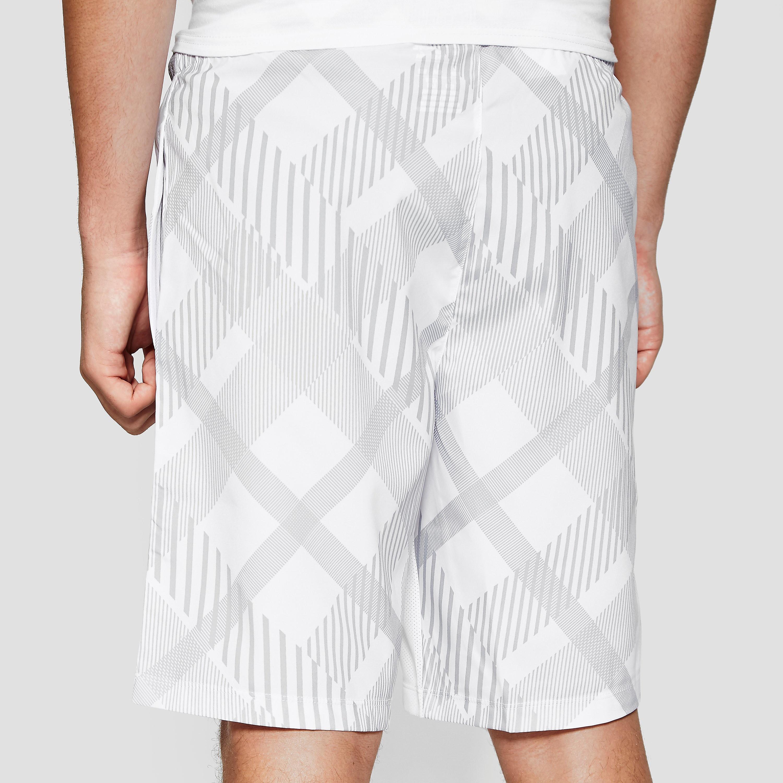 "Wilson Rush 8"" Plaid Junior Boy's Court Shorts"
