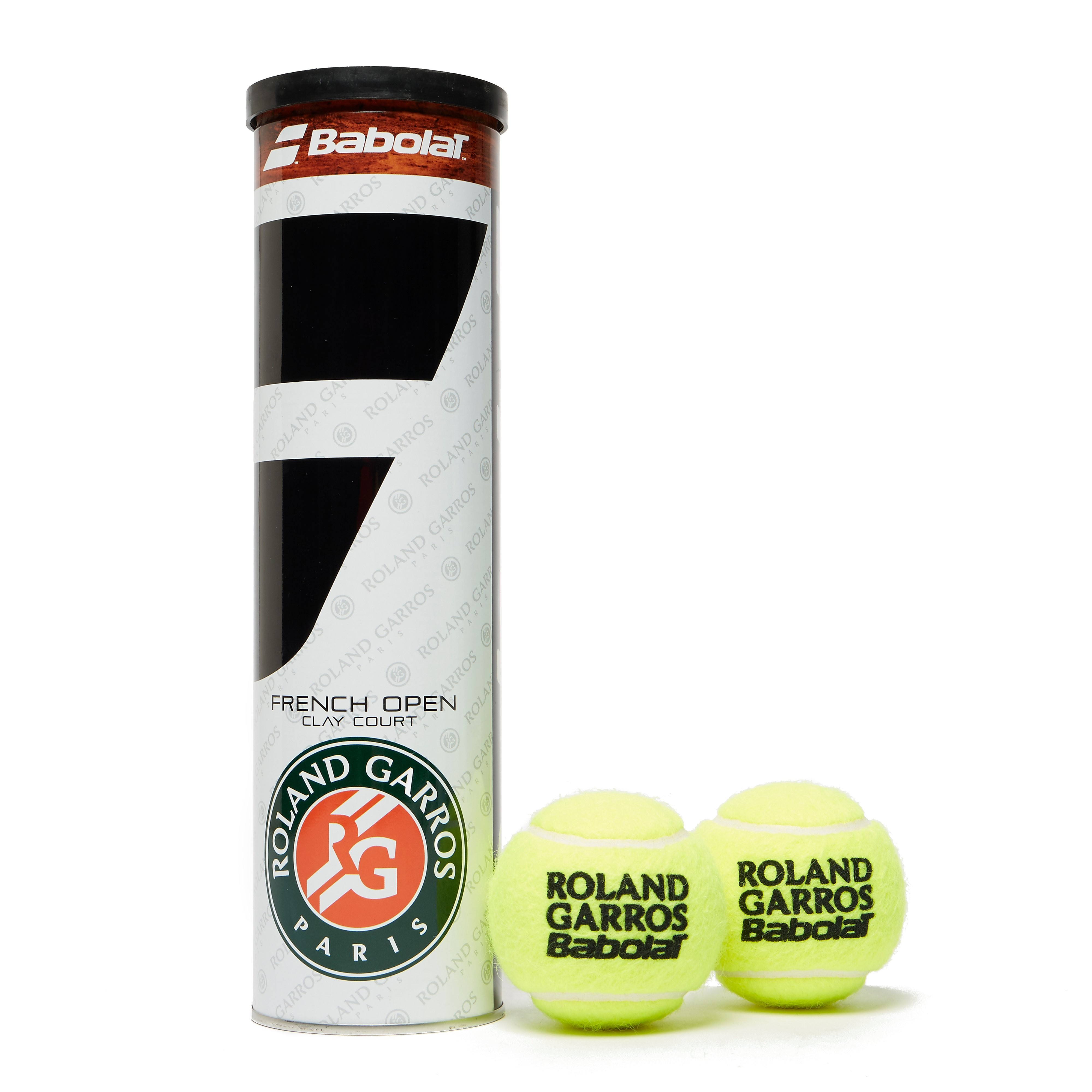 Babolat French Open Tennis Ball (4 Ball Can)