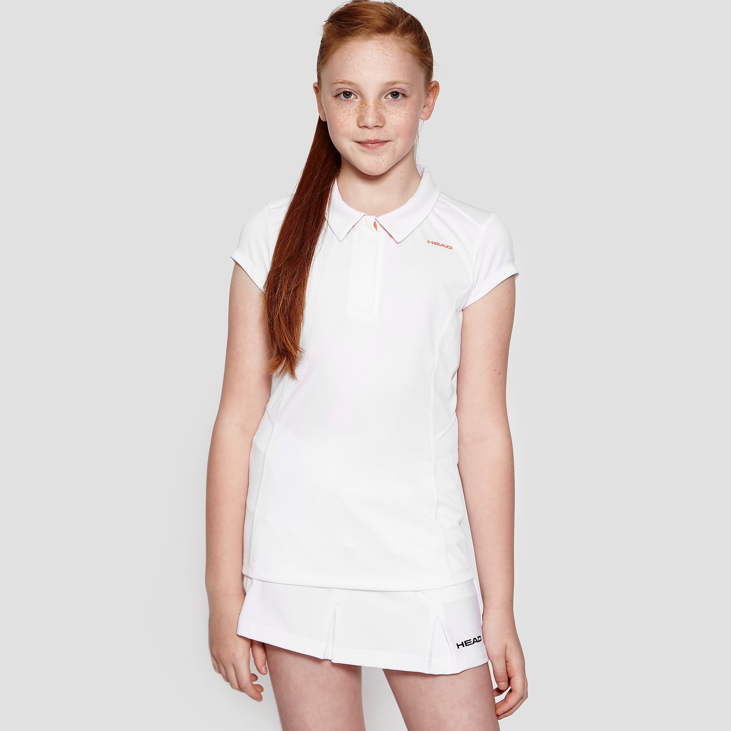Head Performance Girl's Tennis Polo Top