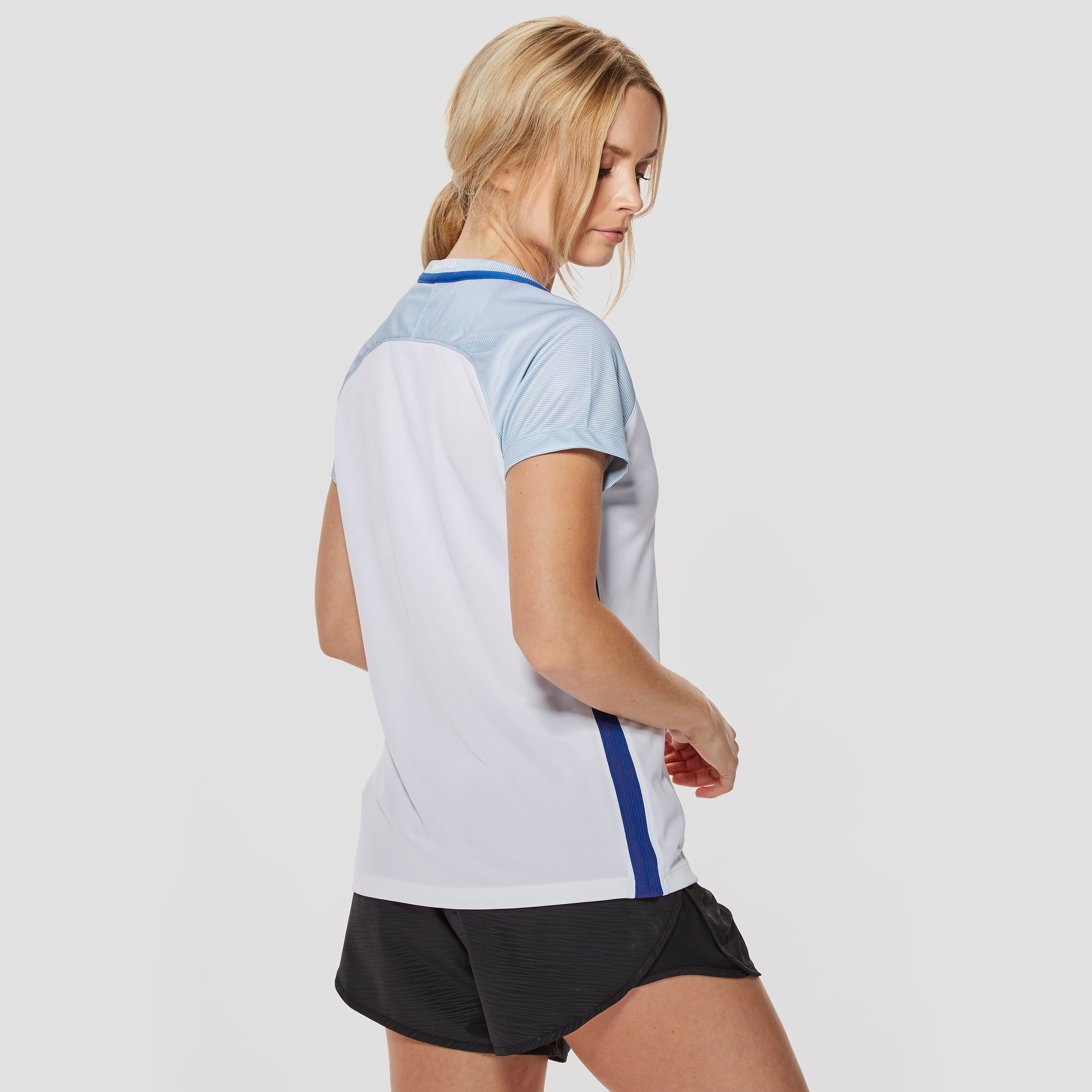 Nike England 2016 Home Stadium Women`s Football Short-Sleeve Jersey
