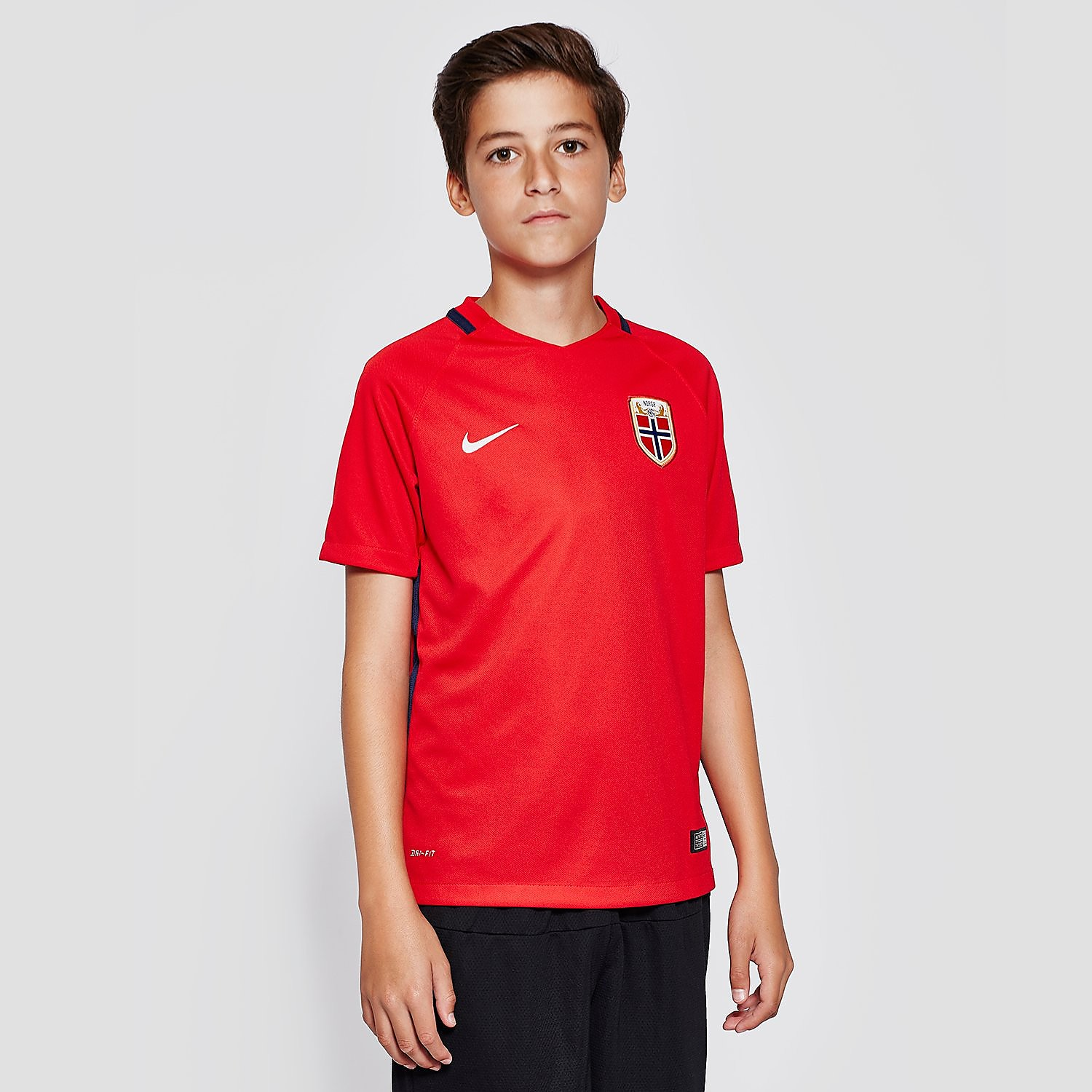 Nike Norway Home Junior Football Short-Sleeve Jersey