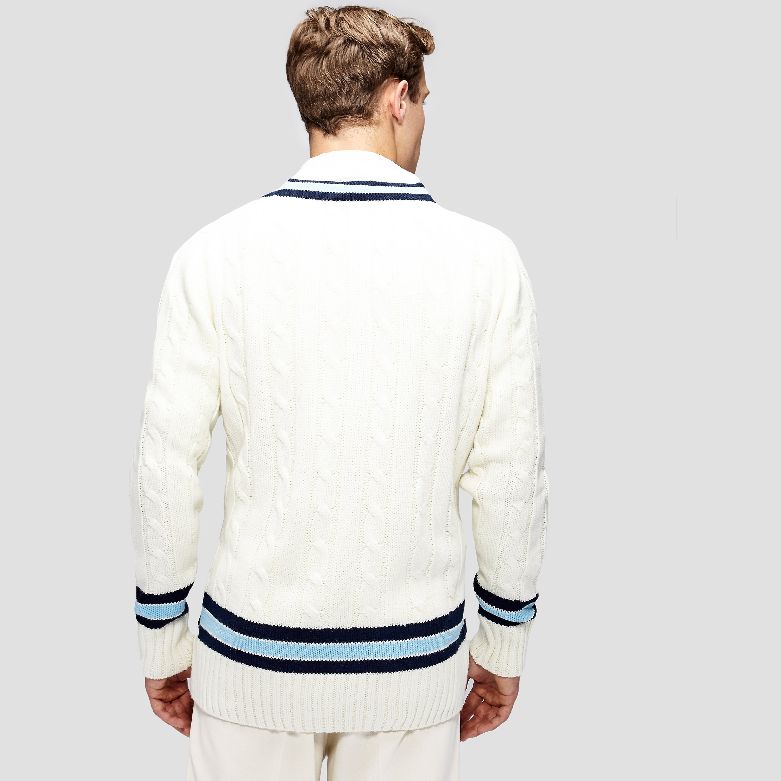 Gunn & Moore Sweater Trimmed With Long Sleeves