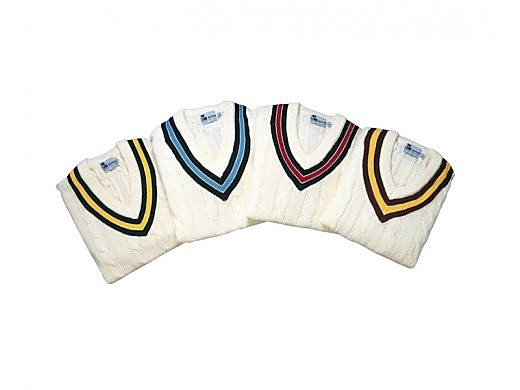Gunn & Moore Sleeveless Boys Cricket Sweater with Trim