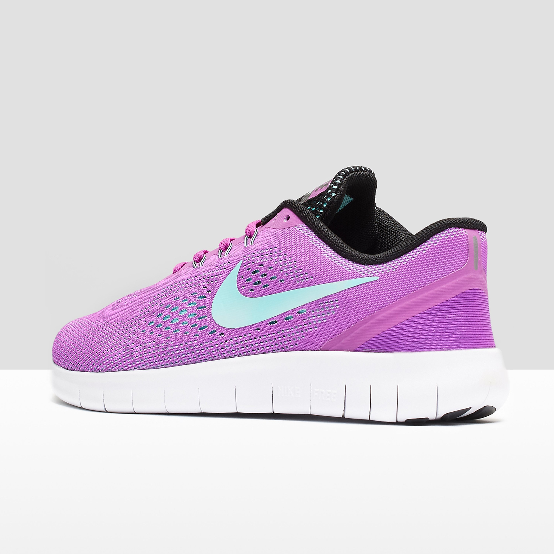 Nike Free RN Flyknit Junior Running Shoe