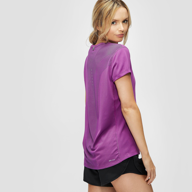 Nike Dri-FIT Contour Short-Sleeve Women's Running Top