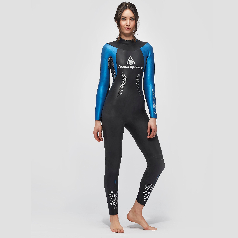 Womens Mid Blue Aqua Sphere Racer Wetsuit