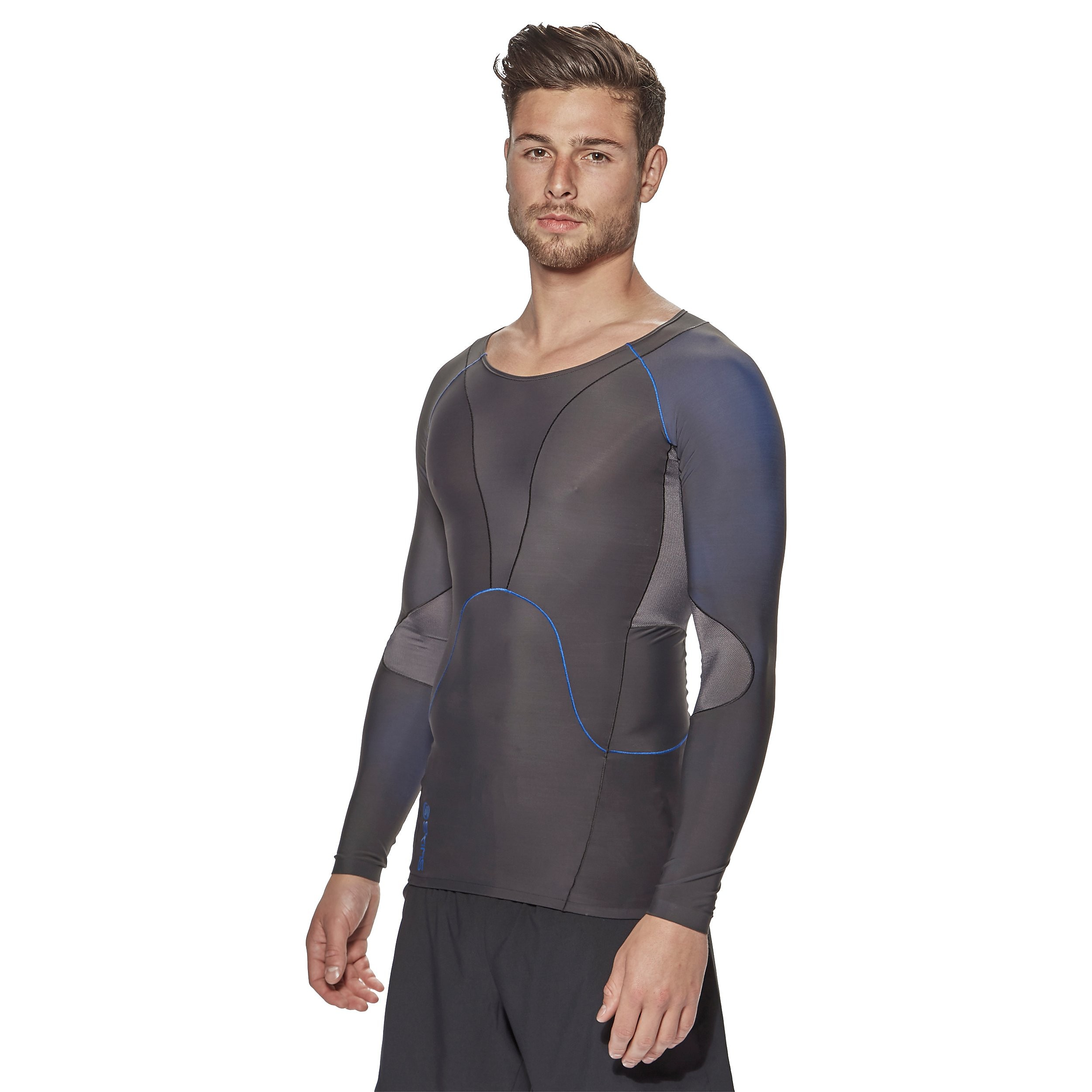 Skins RY400 Long Sleeve Men's Compression Top For Recovery
